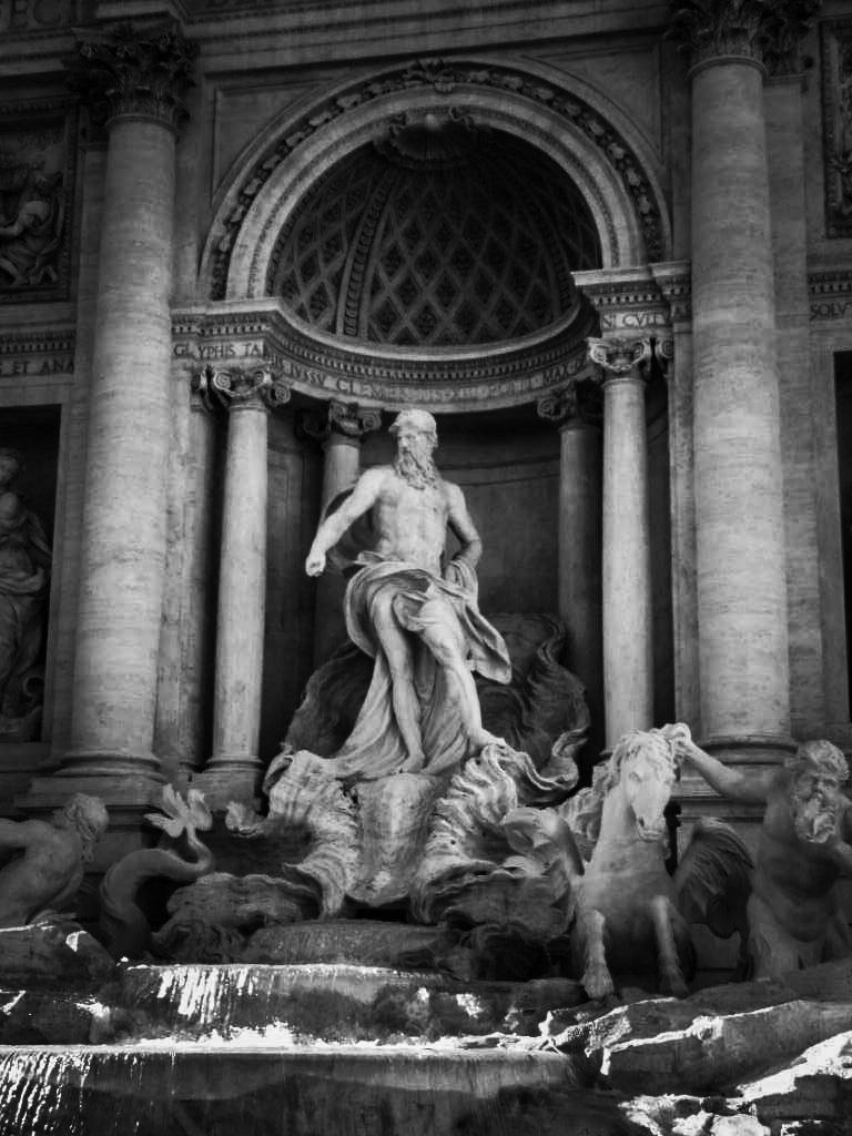 Trevi Fountain by Zhor La Rose