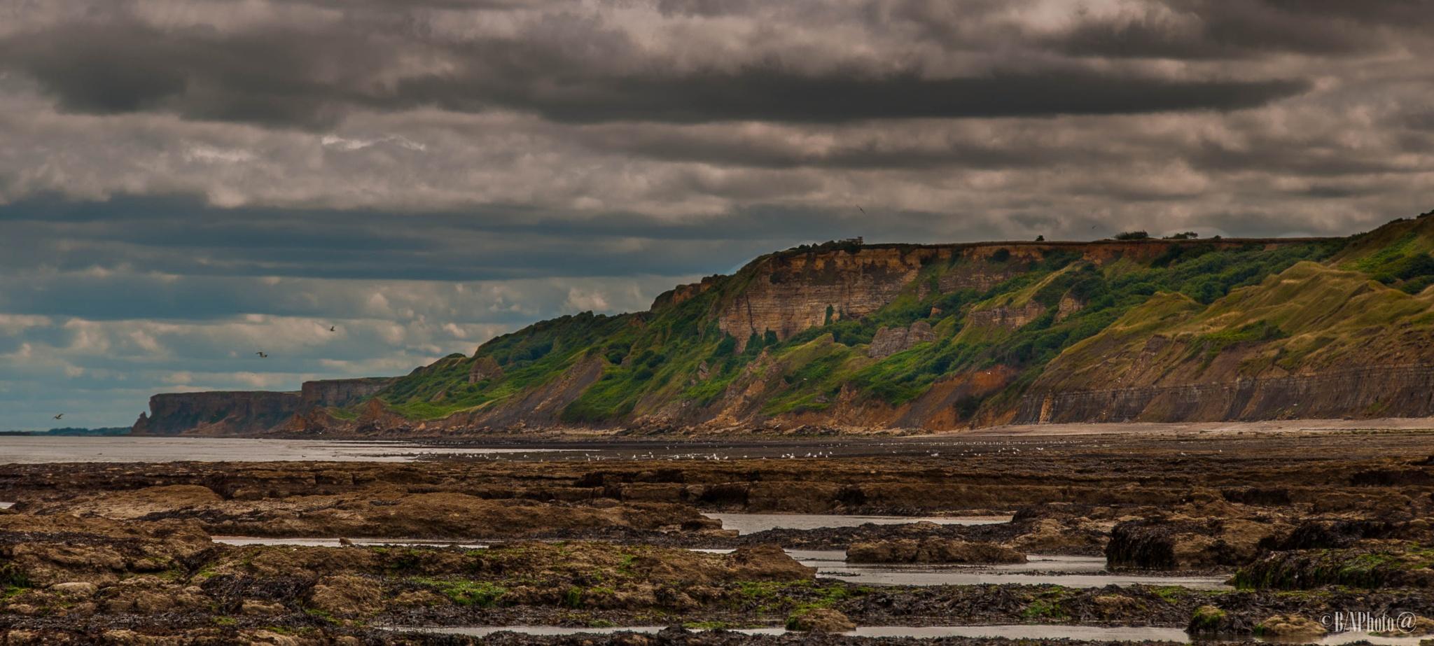 French coast. by B/N Photo@