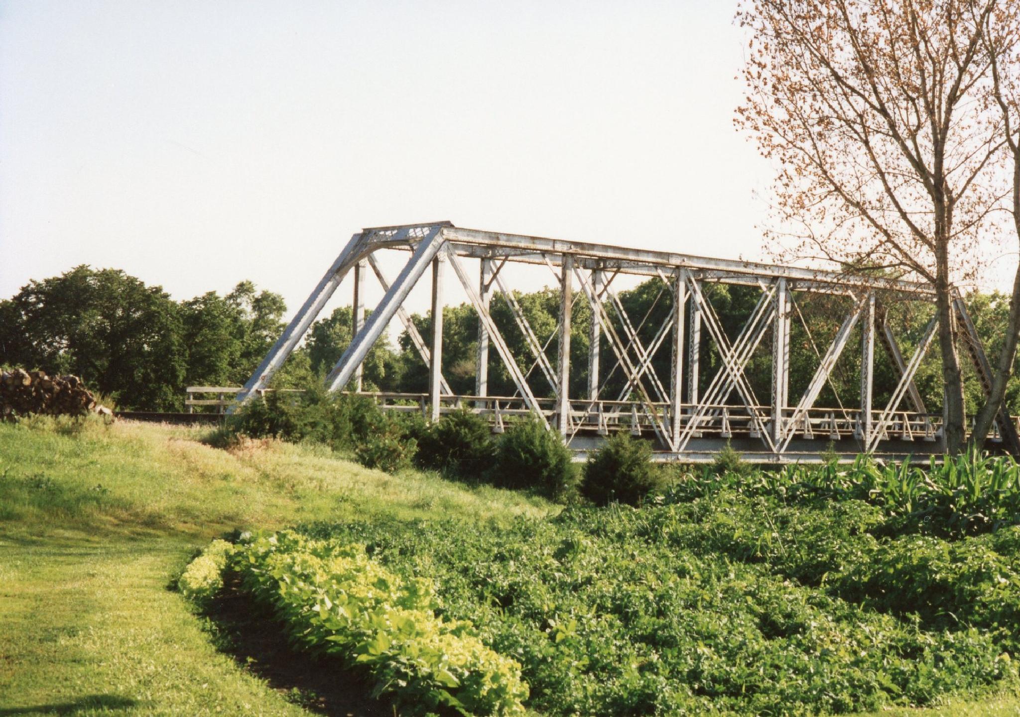 Railroad bridge by monarch