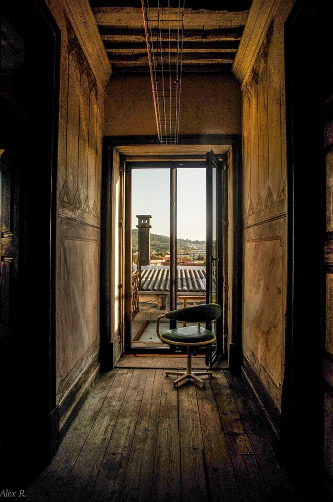 Room with a view by Alex Rocio