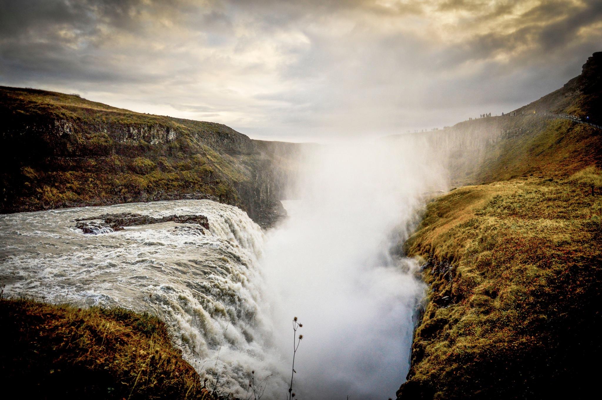 Gulfoss, Iceland by John White