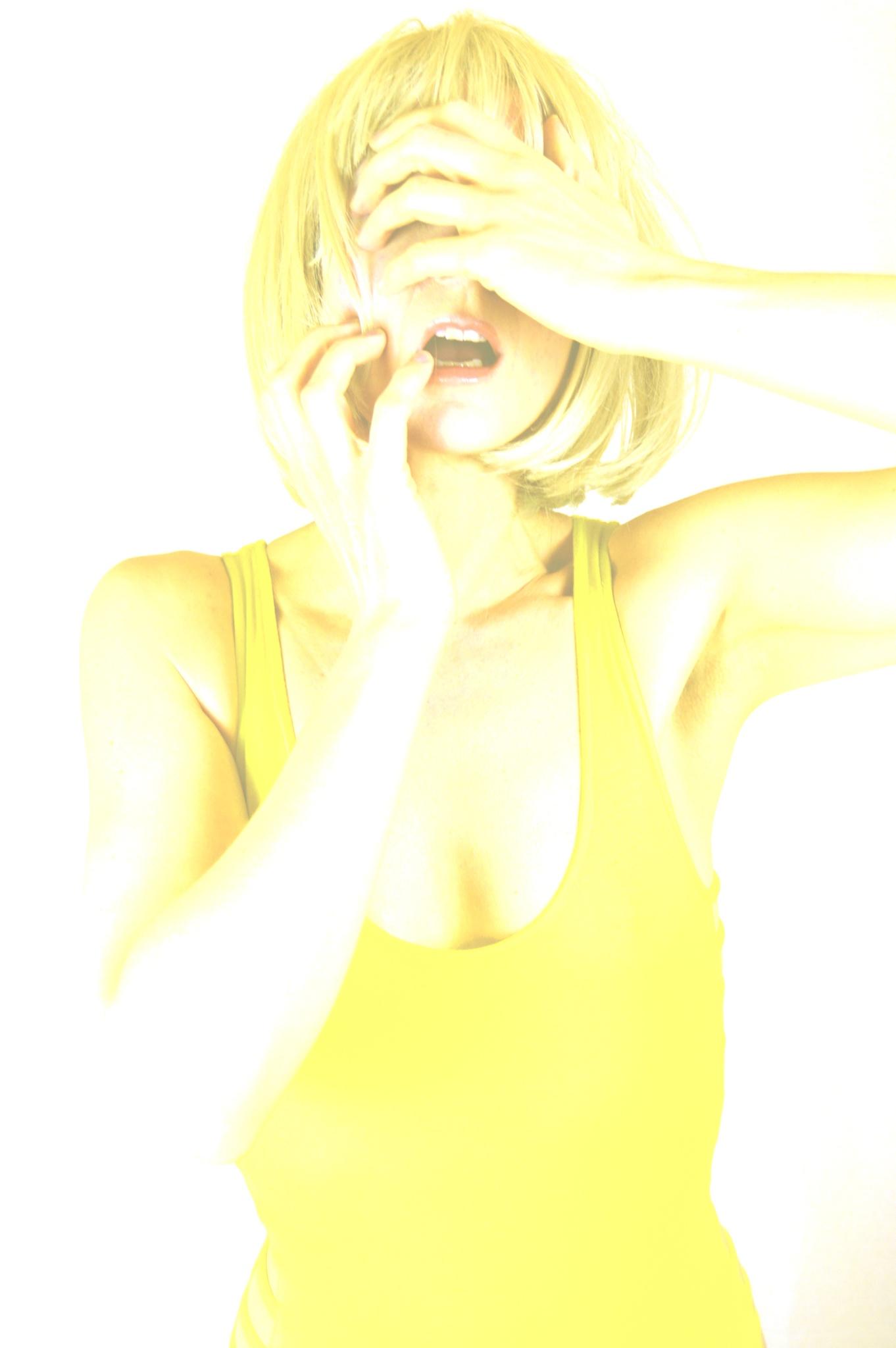 Portrait in yellow by John White