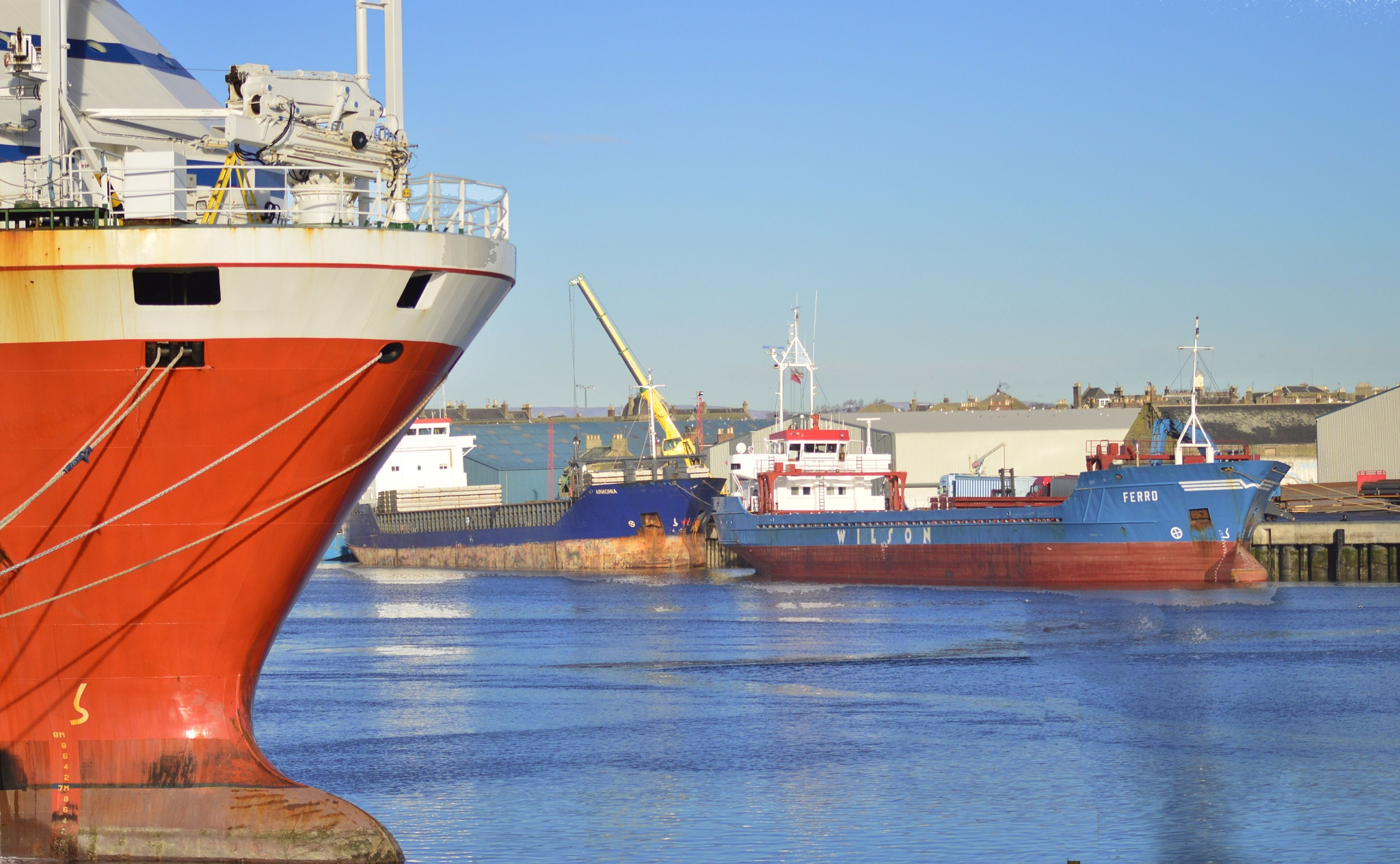 Harbour by John White