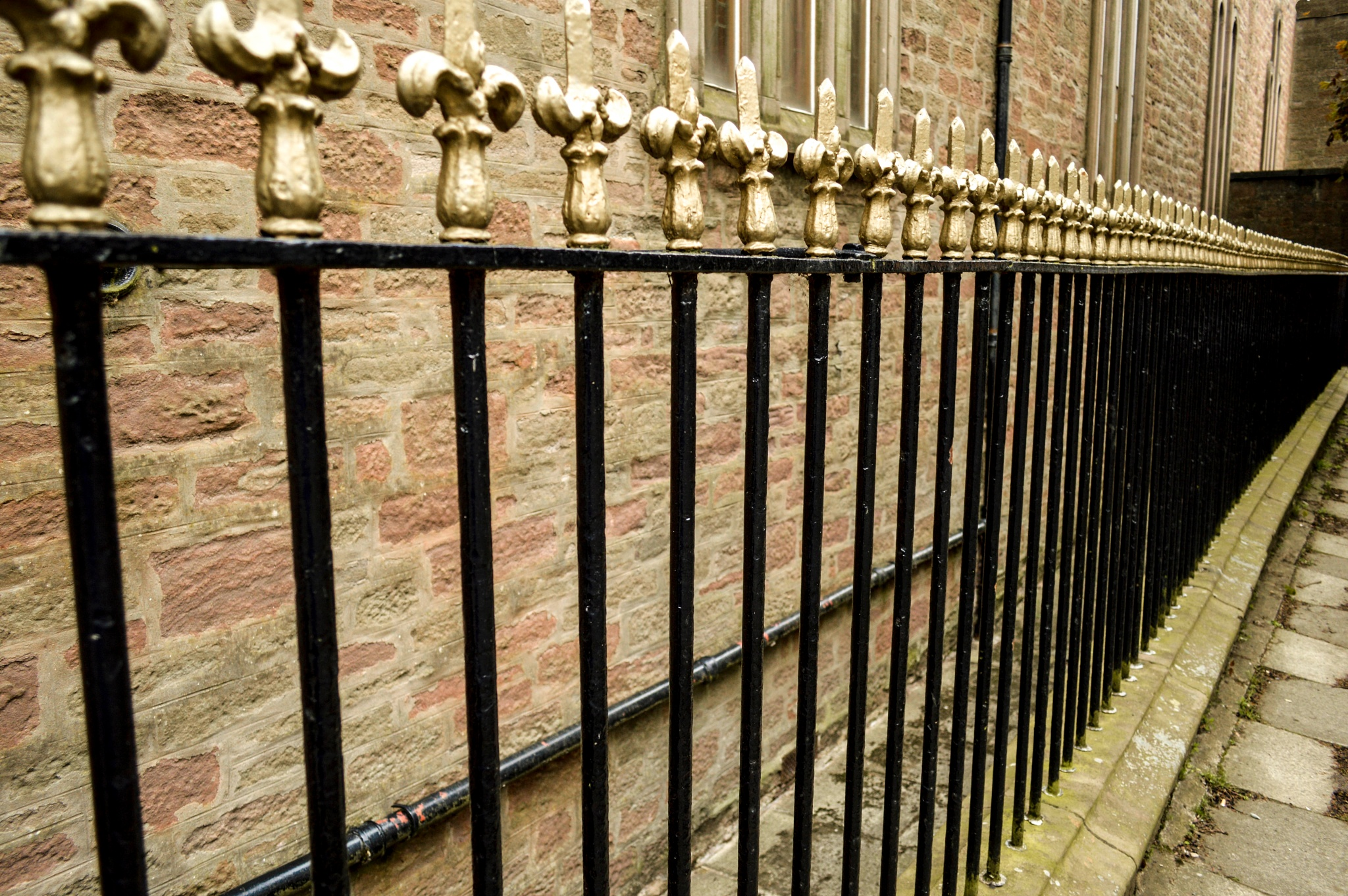 Photo in Random #railings #dundee #fence
