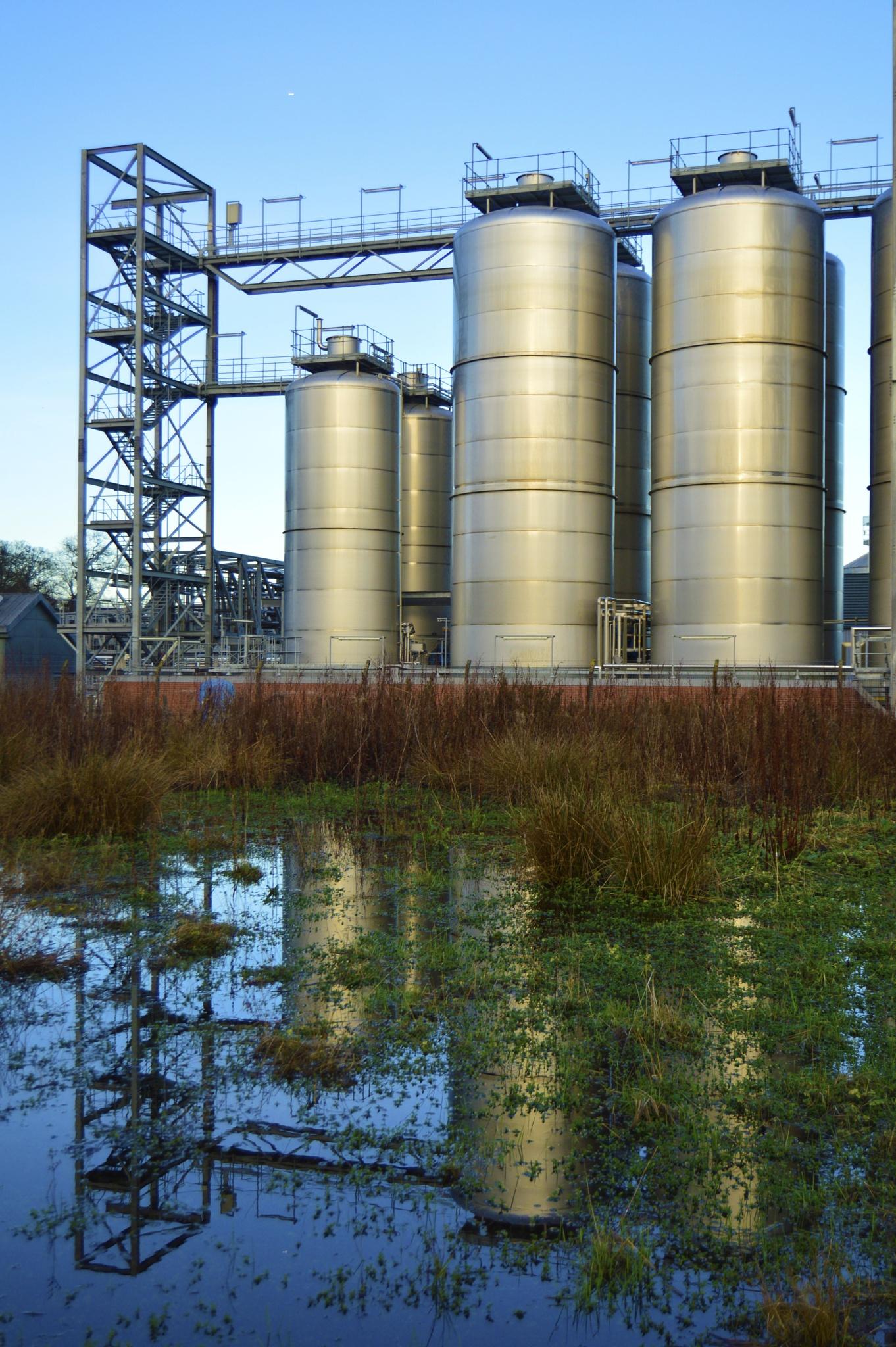 Photo in Industrial #distillery