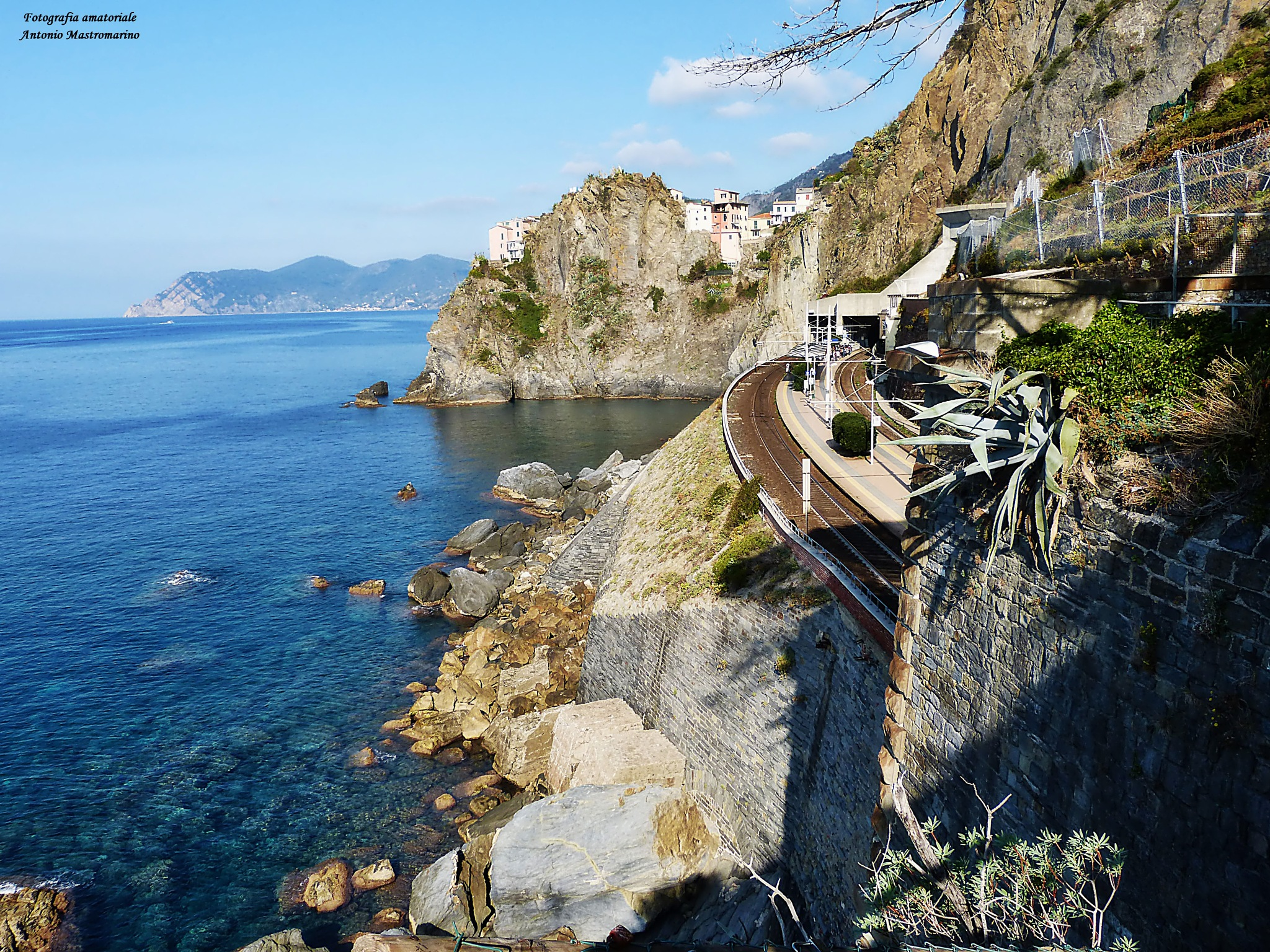 Manararola Cinque Terre by antonio mastromarino