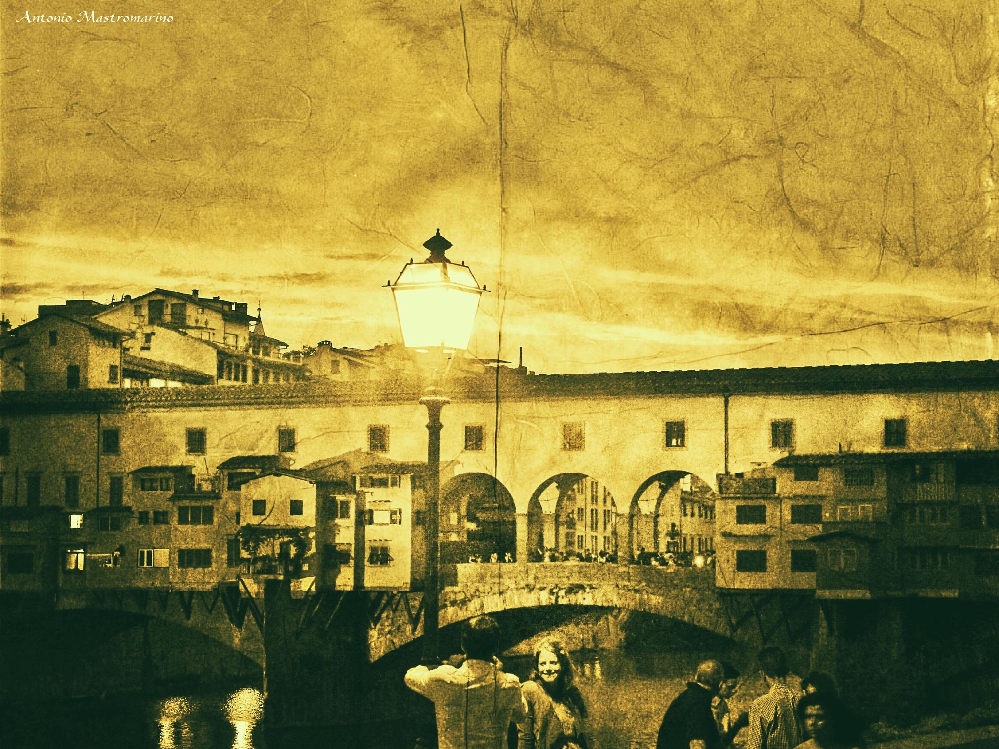 Firenze Ponte Vecchio by antonio mastromarino