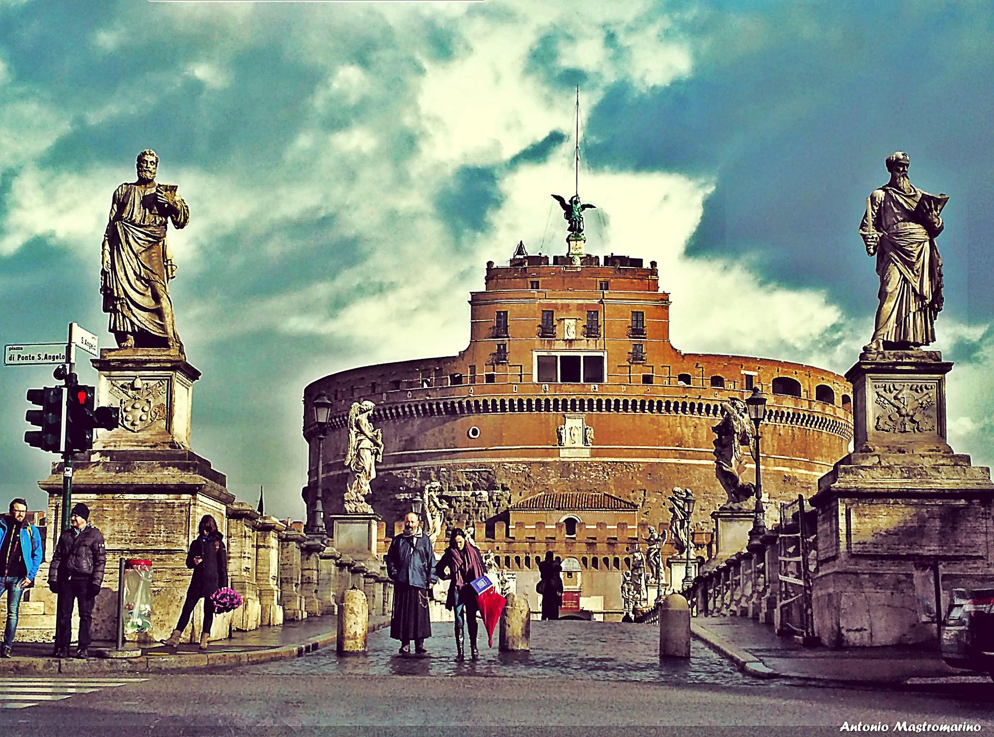 Roma Castel San'Angelo by antonio mastromarino