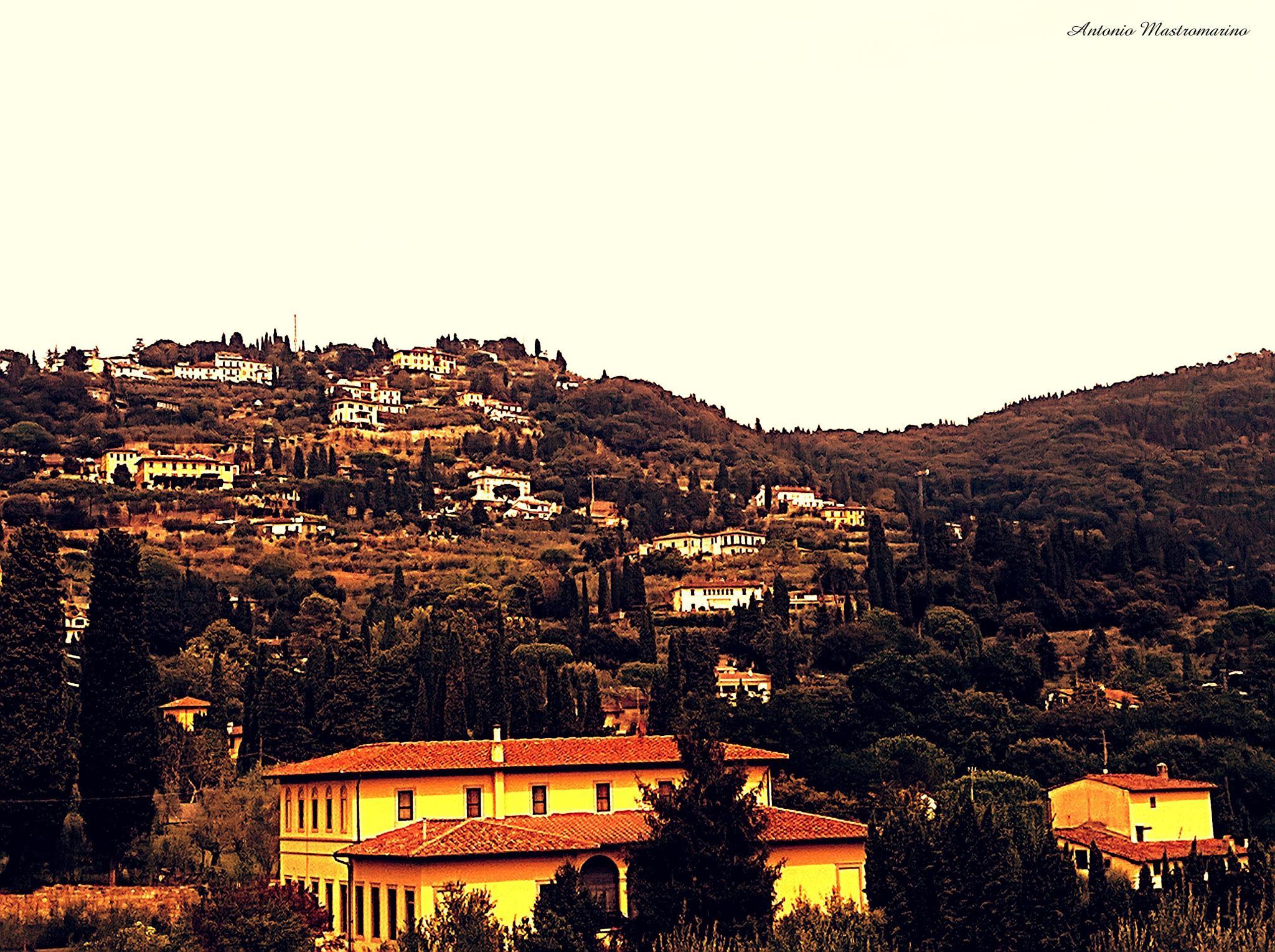 Fiesole Italy by antonio mastromarino
