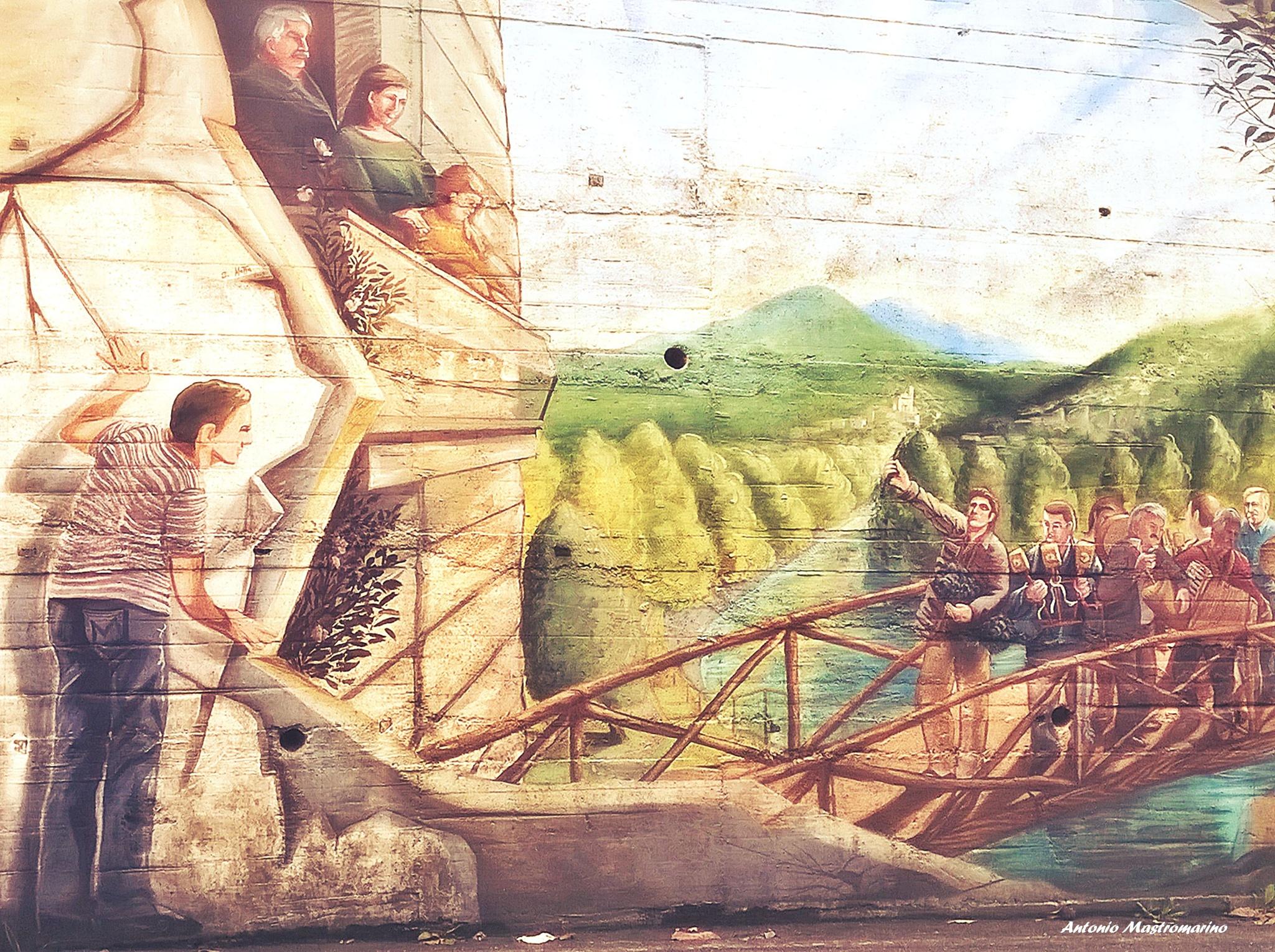Carlos Atoche, artista peruviano  by antonio mastromarino