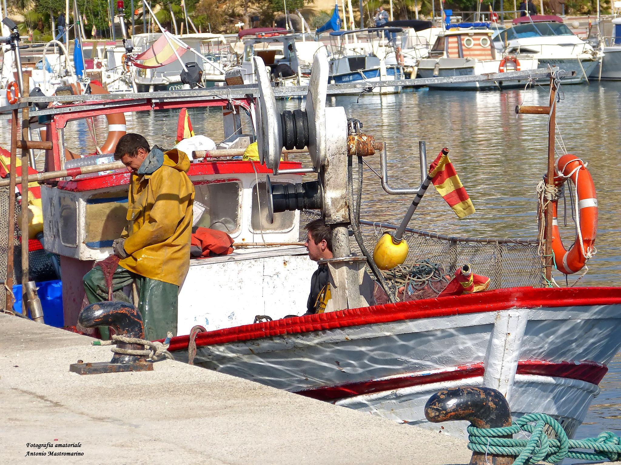 pescatori by antonio mastromarino