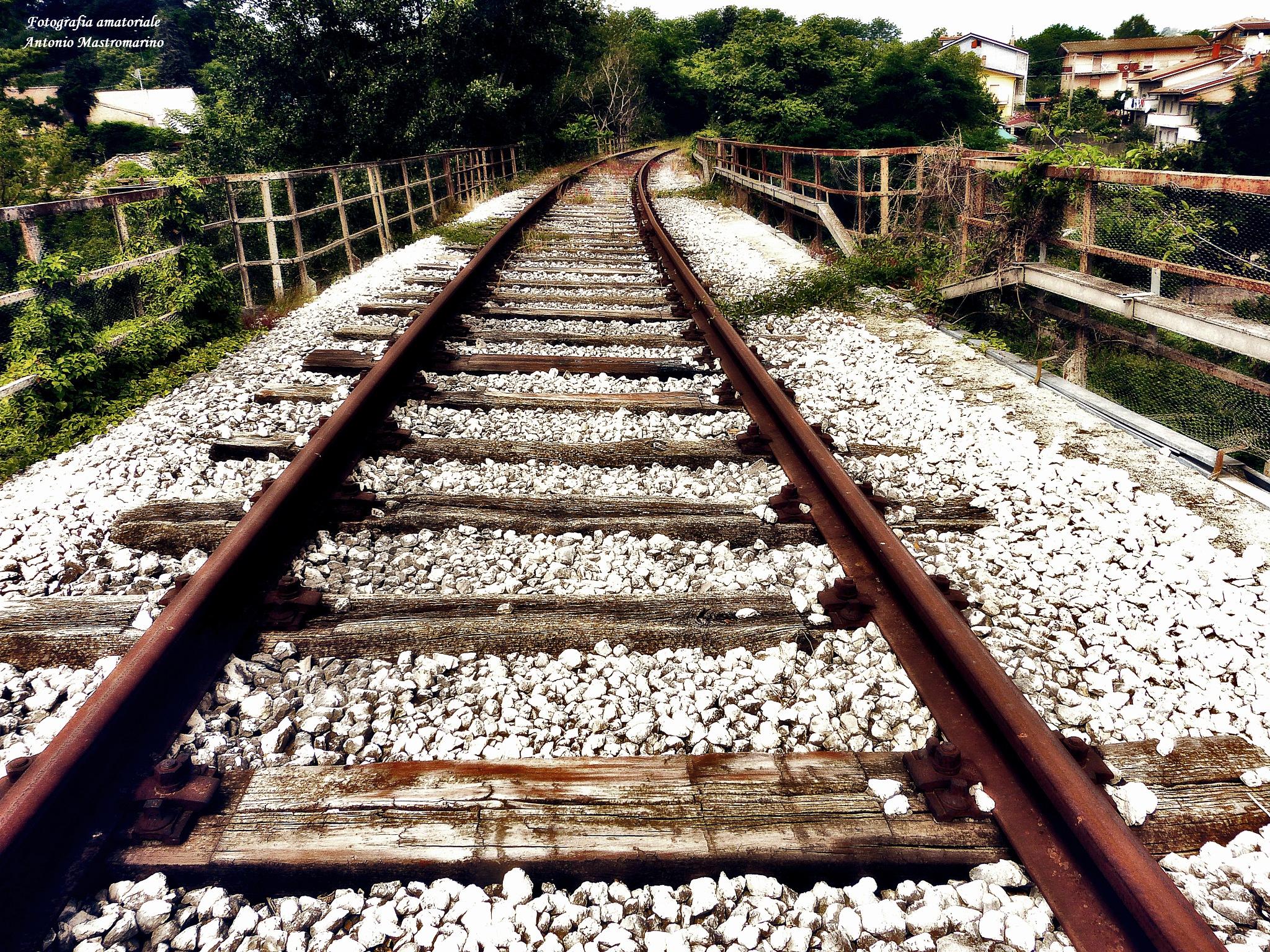 linea ferroviaria Rocchetta Sant'Antonio Atripalda by antonio mastromarino