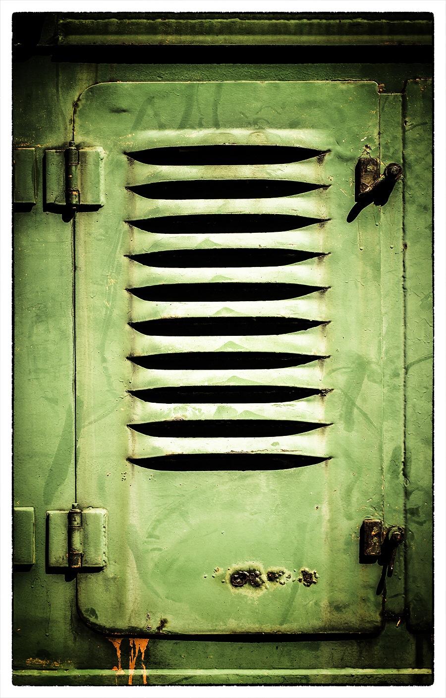 Close the door by Gertjan Tichelaar