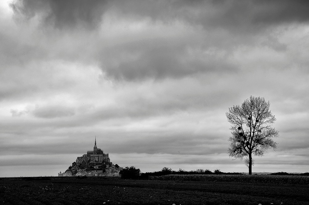 Mont Saint-Michel by denis.keith