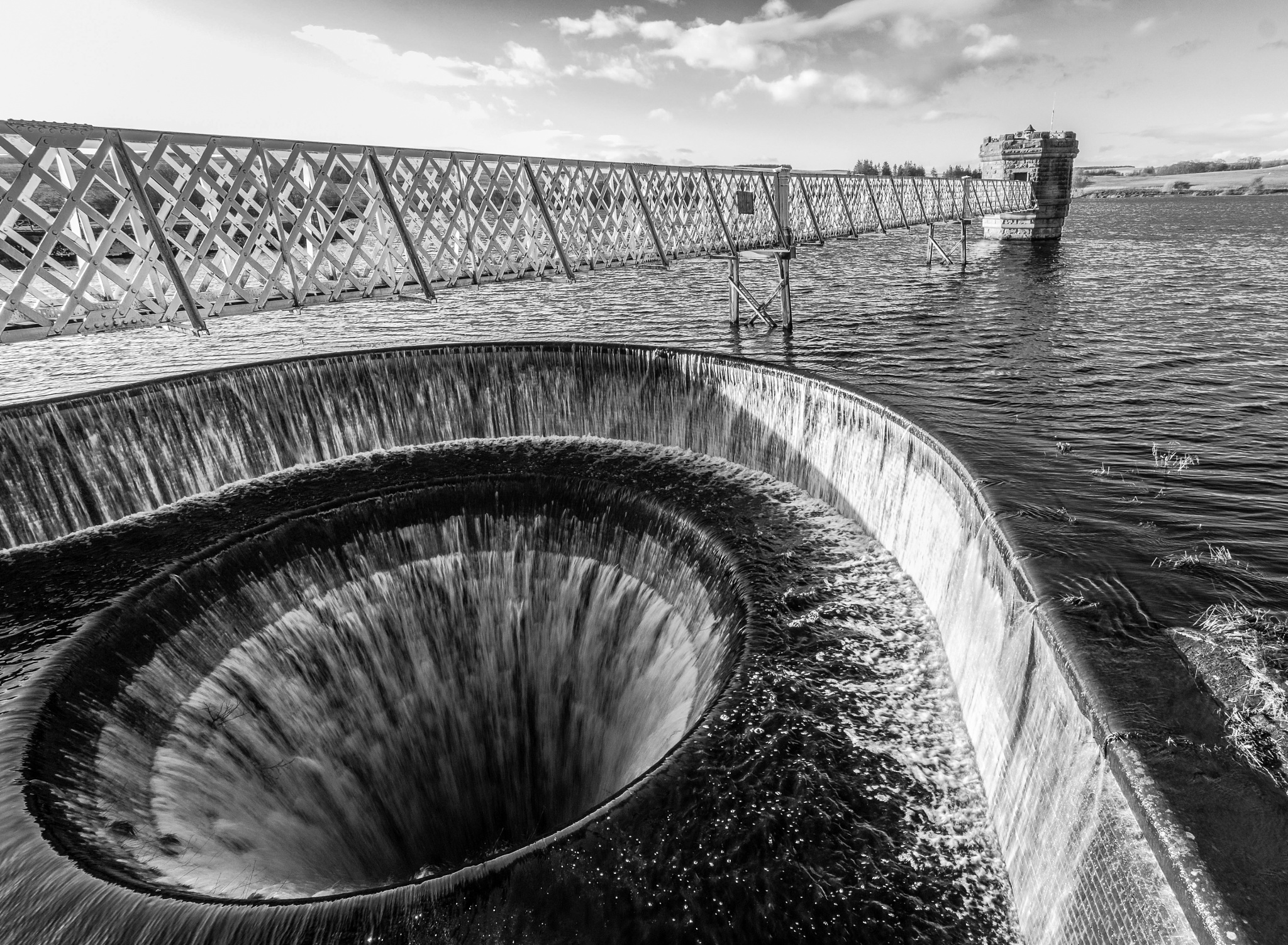 Fontburn Reservoir Water Tower by Mole59
