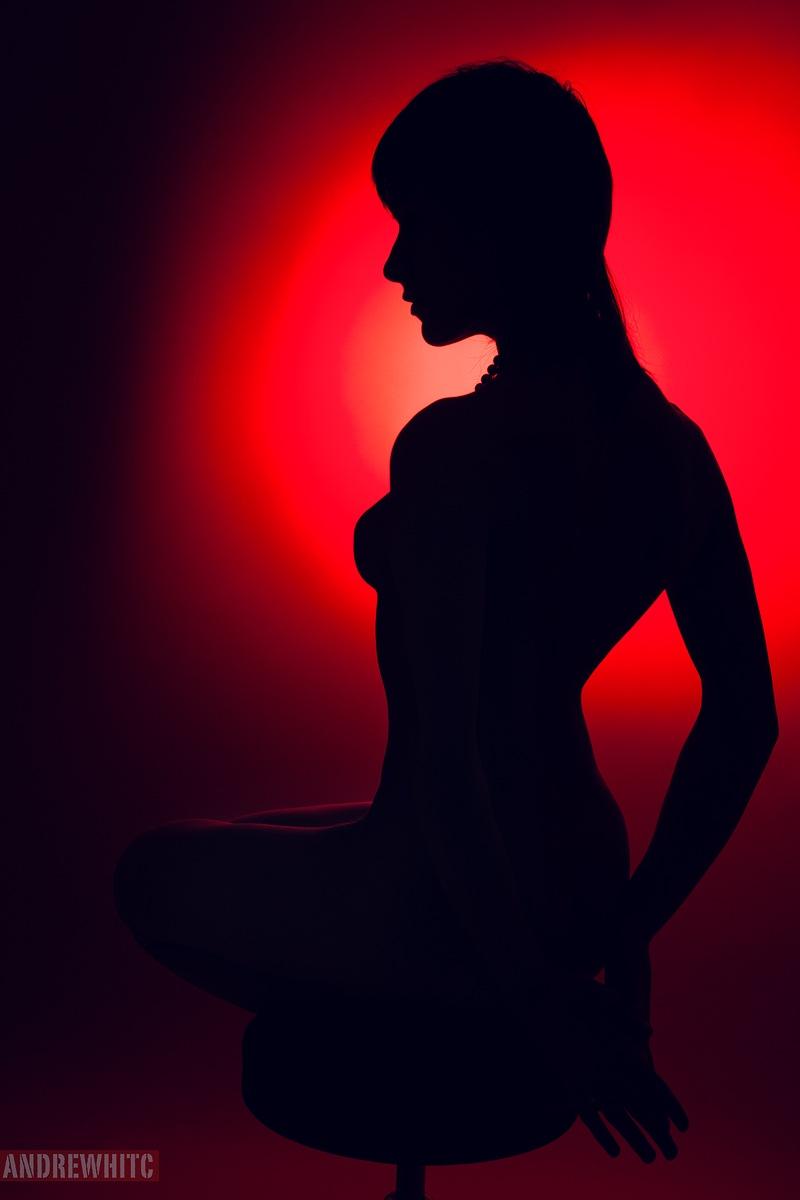 Girl in Black  by andrewhitc