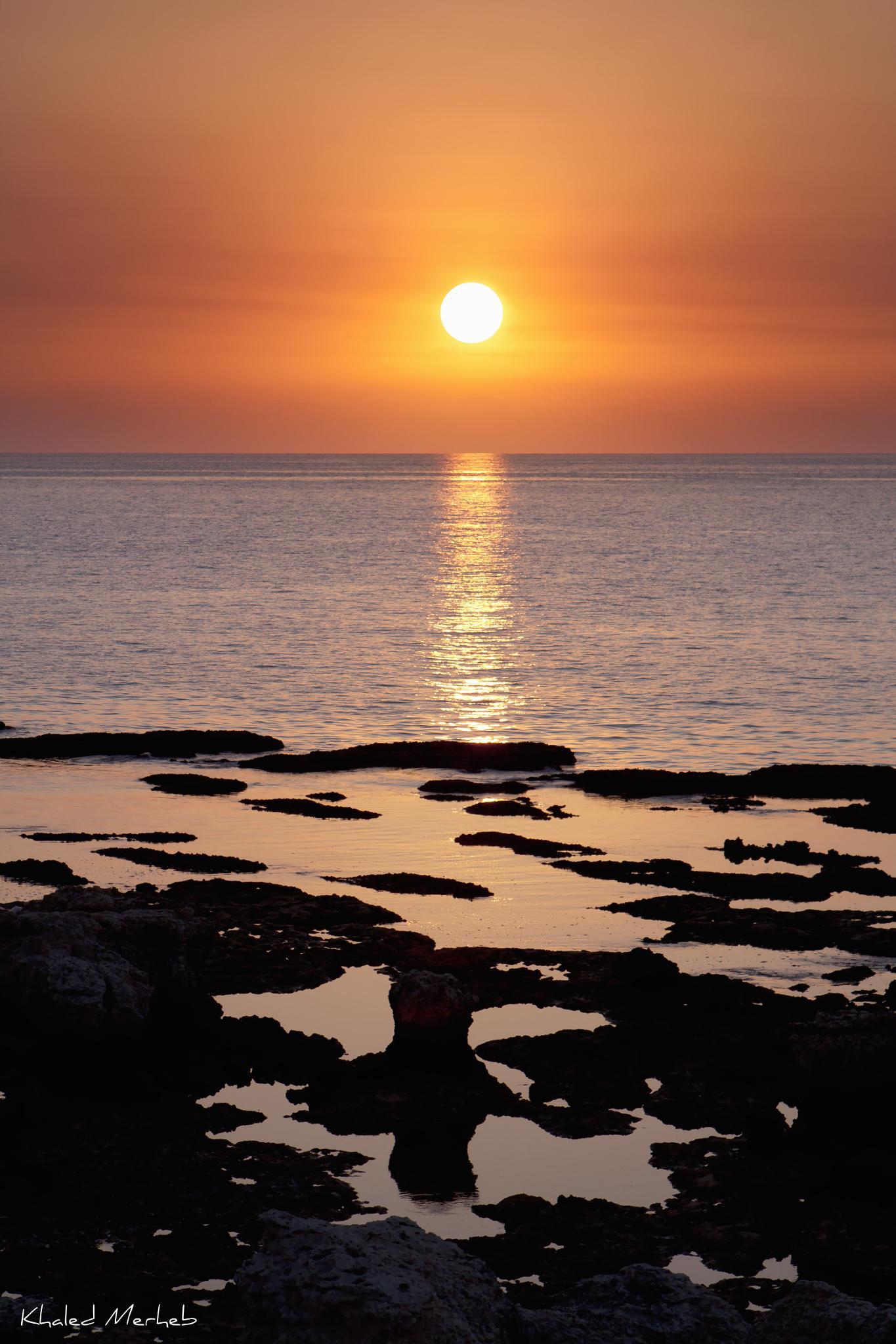 The Beauty Of A Sunset.. by khaledMerheb