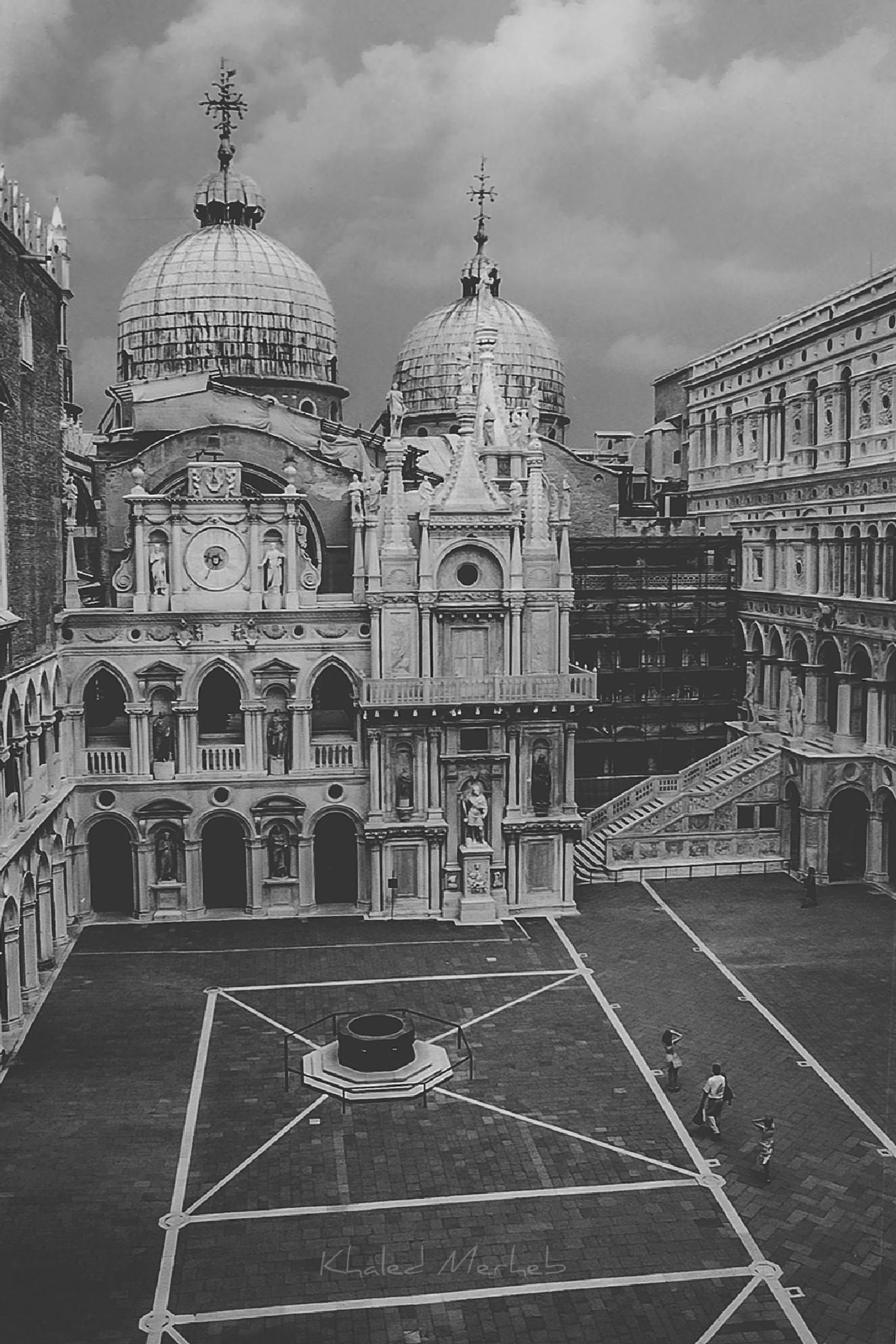 Doge's Palace Courtyard, Venice by khaledMerheb