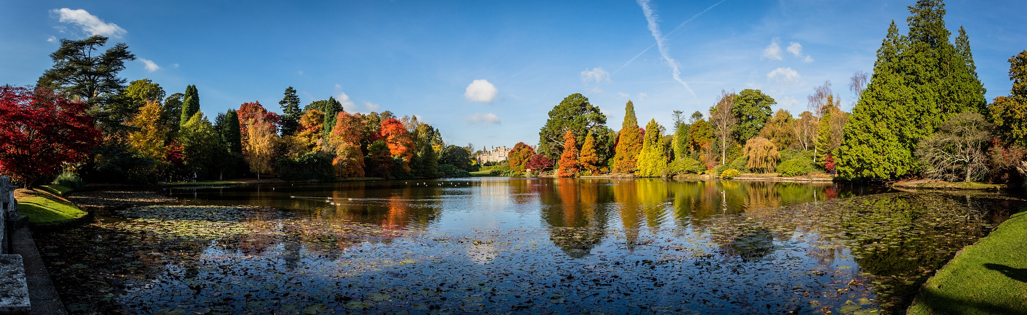 Sheffield Park in the autumn by Stephen Johnson Photography
