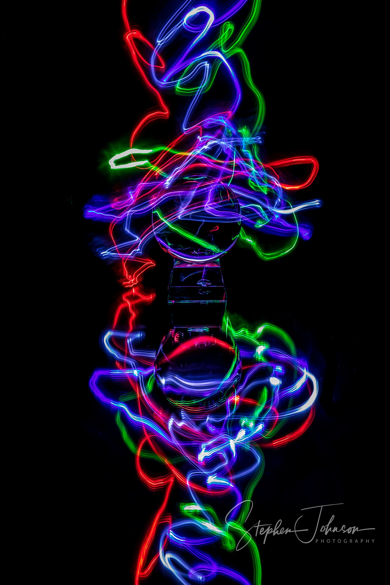 Light Painting . . . by Stephen Johnson Photography