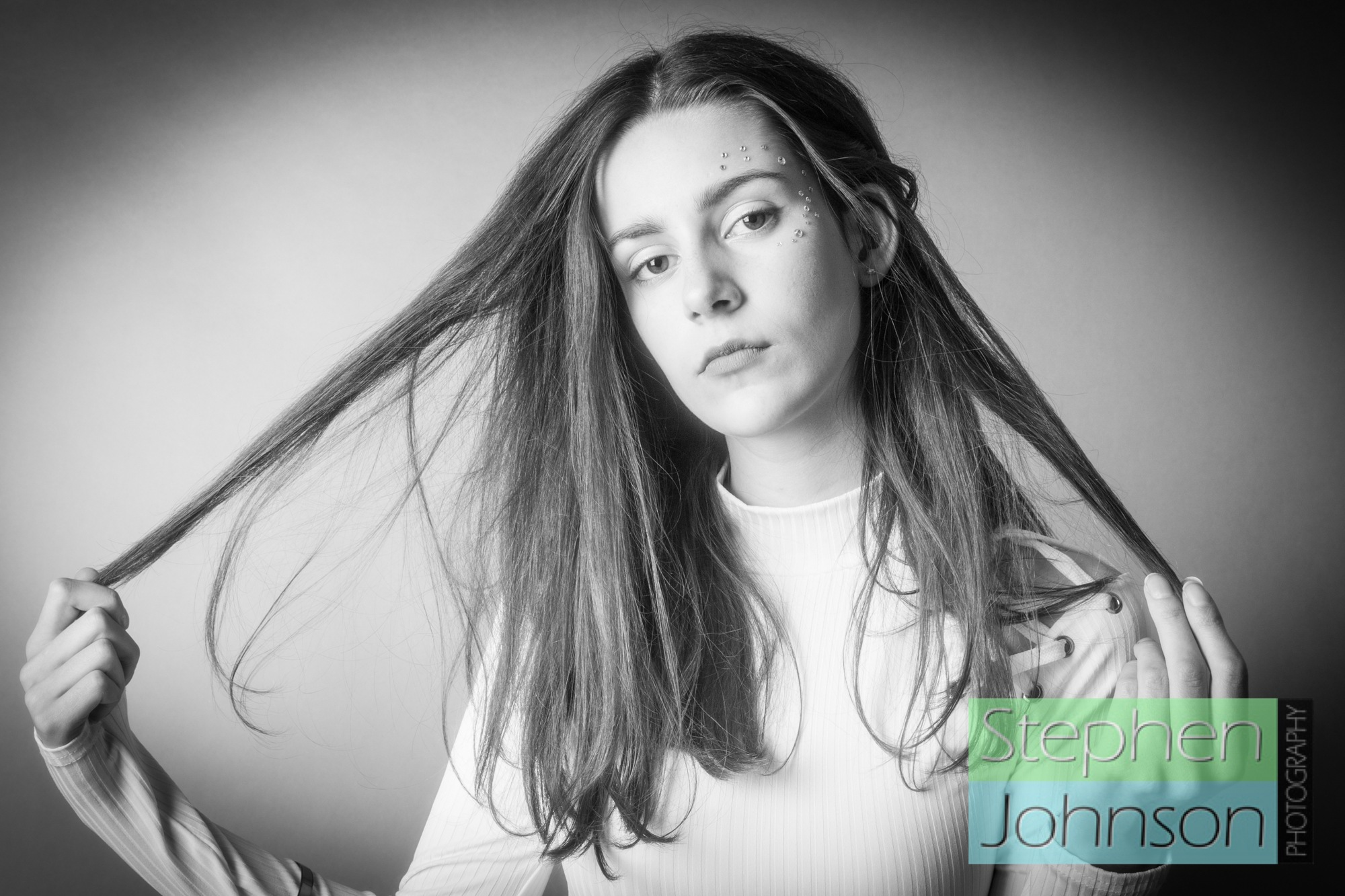 Another beautiful young lady by Stephen Johnson Photography