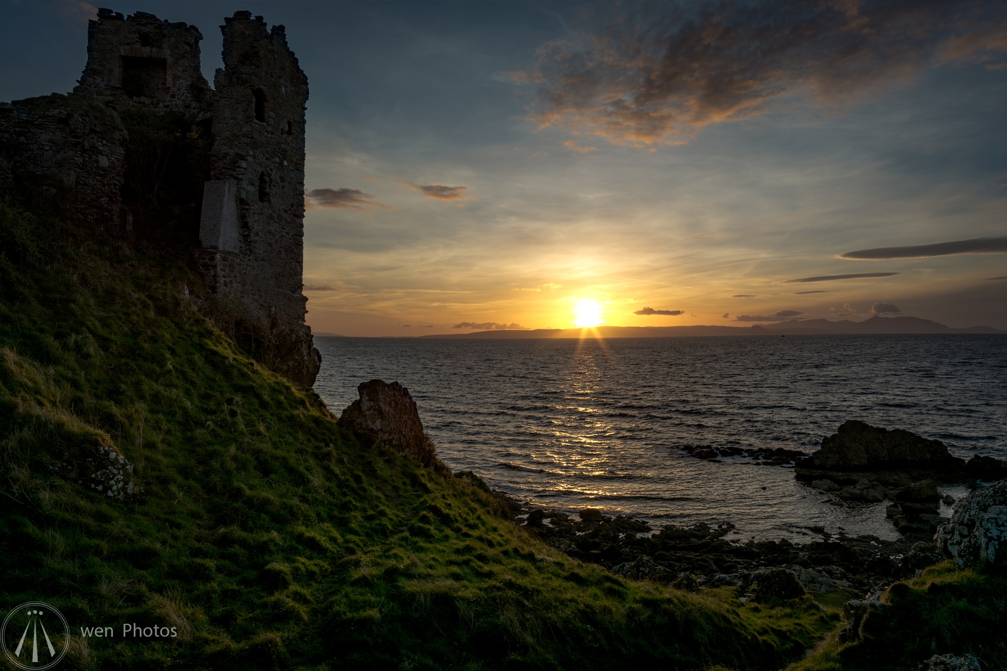 Dunure Sunset (2) by Neil Pitchford