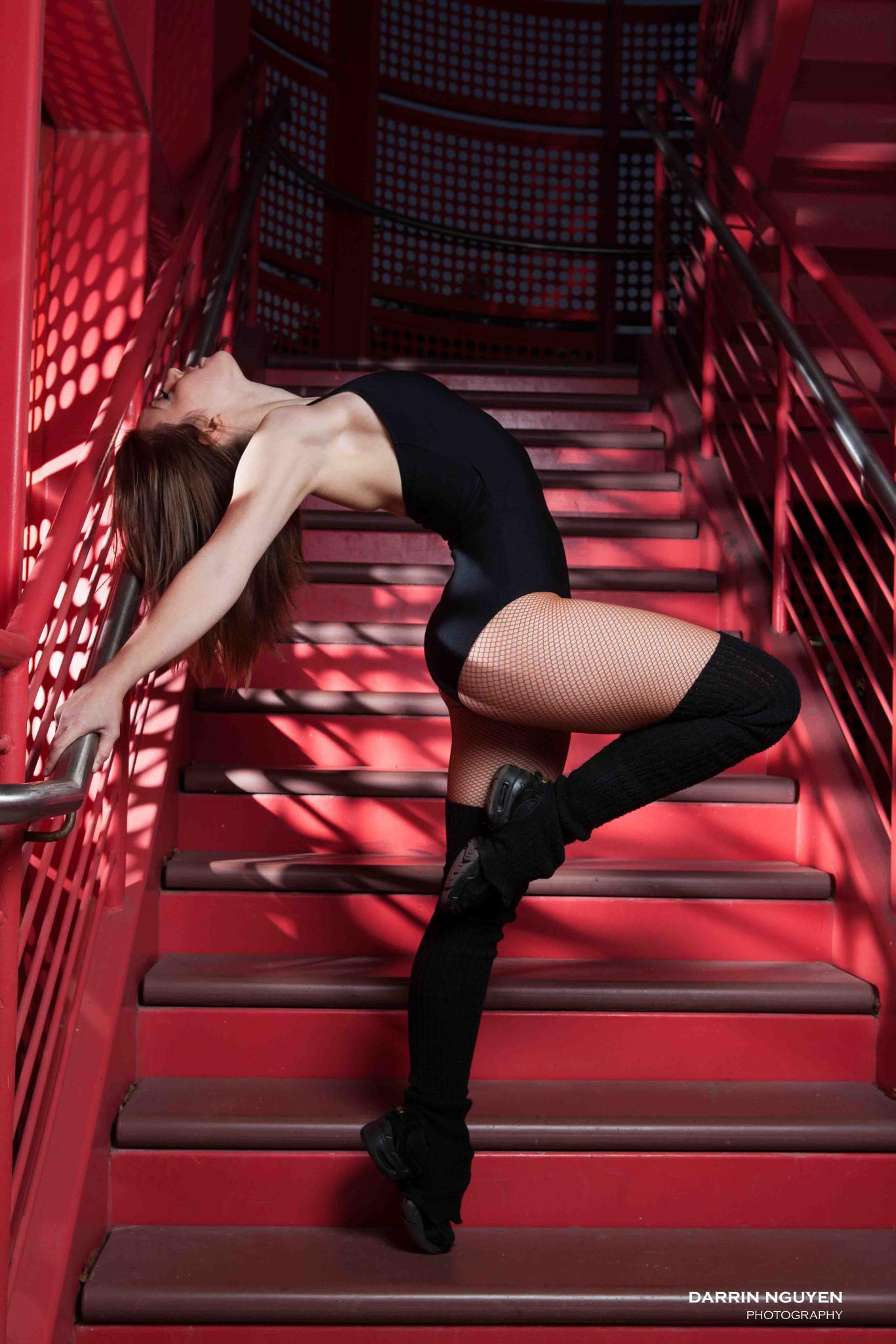 Red Stairs by DarrinNguyen