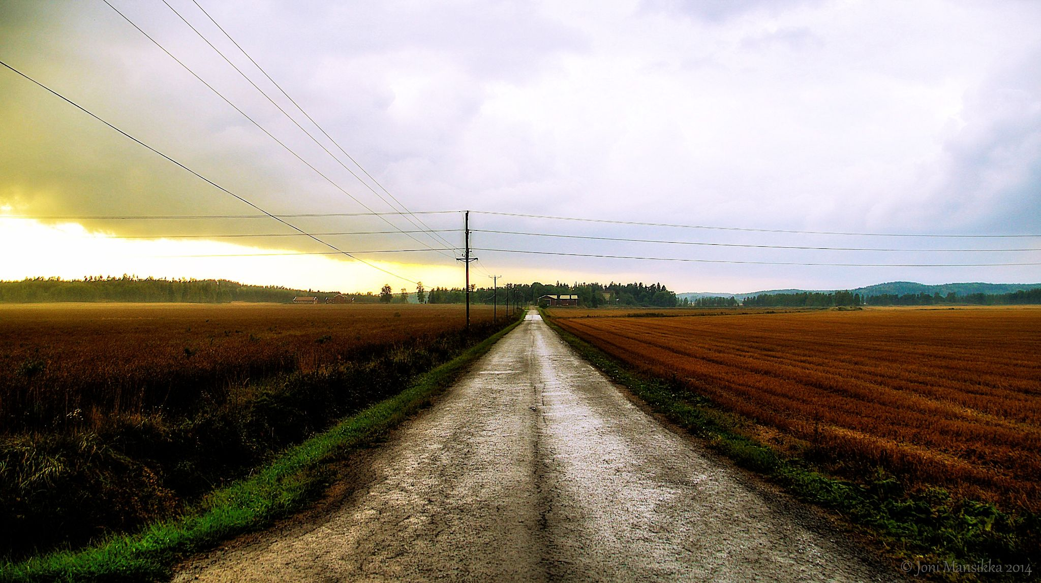 September fields of Paimio by Joni Mansikka