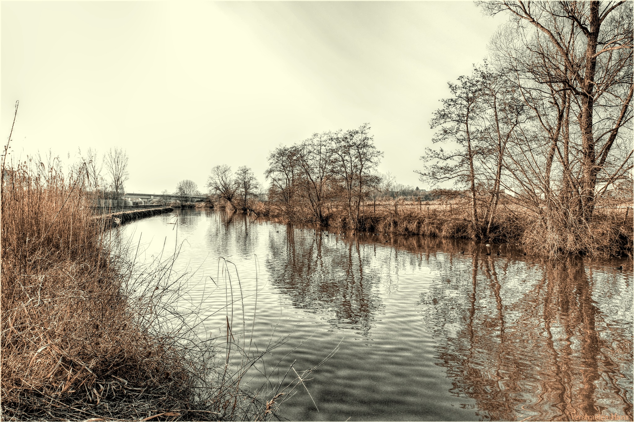 The river Dender by zard319