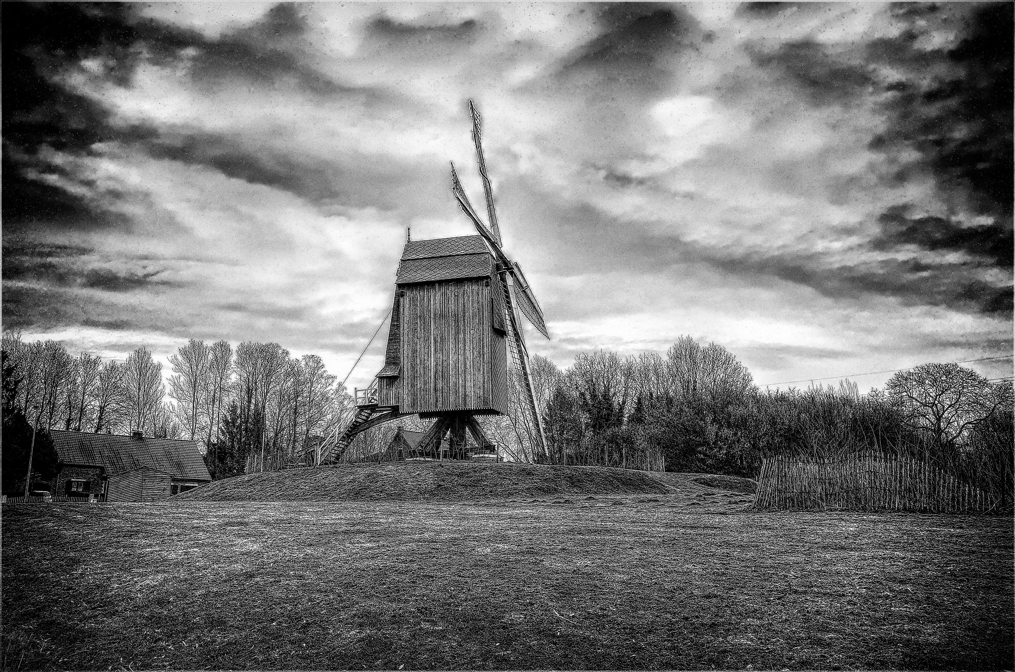 The windmill by zard319