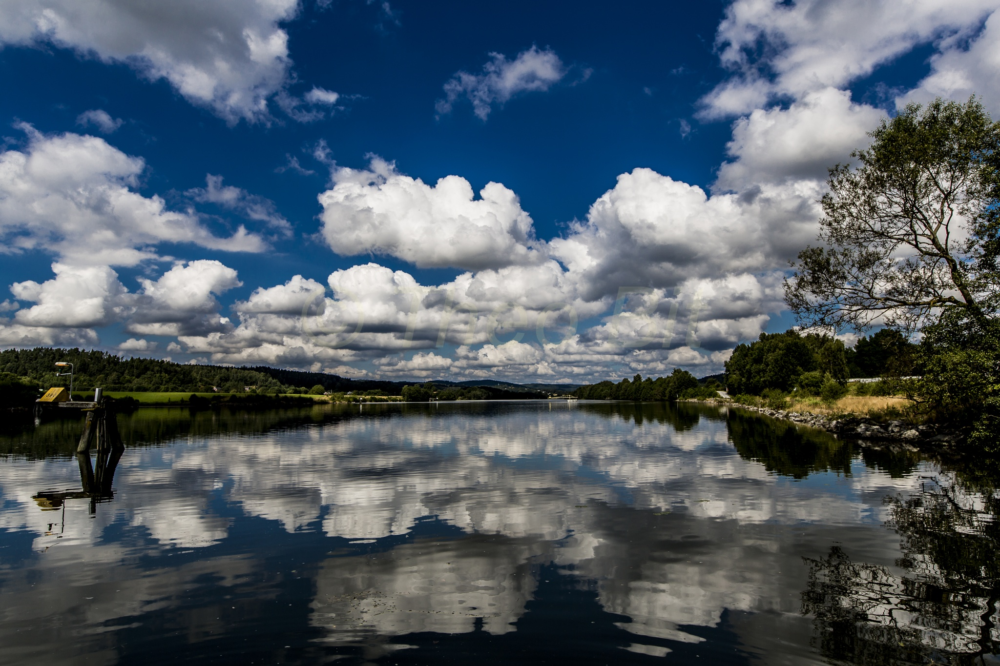 water and the sky by TheoBit