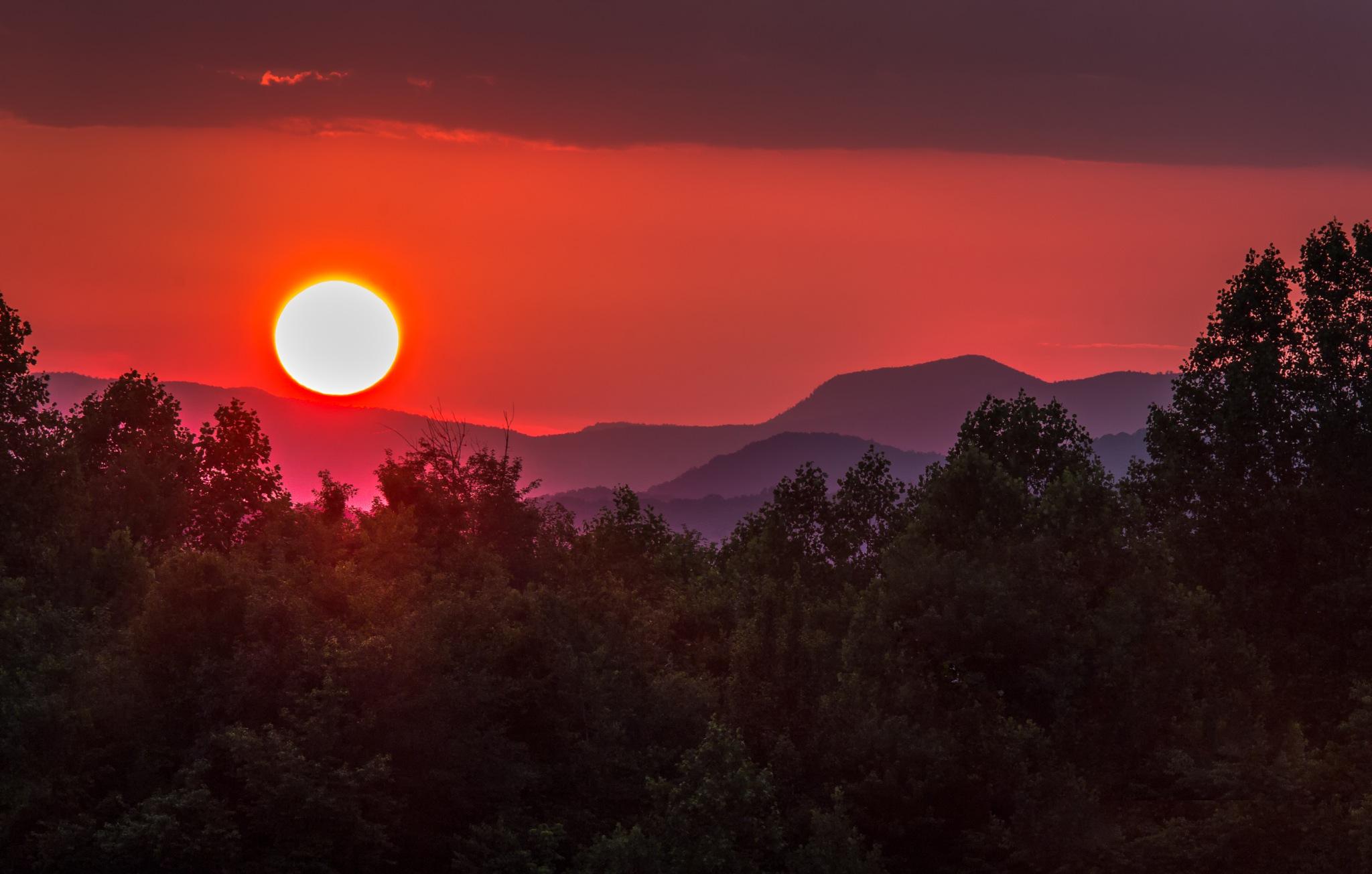 Highlands Sunset by douglasktate