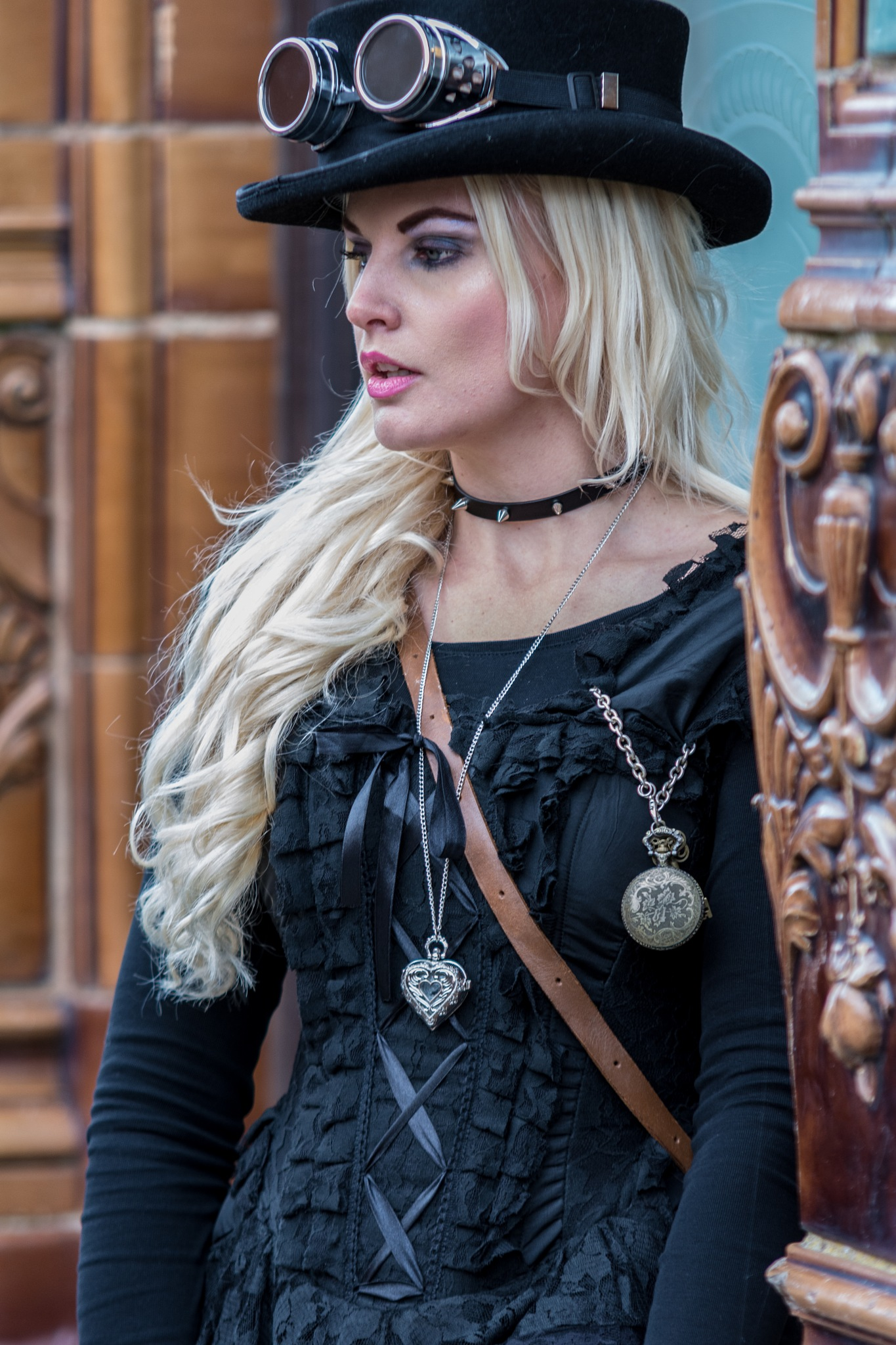 Steampunk beauty by D Whitehead