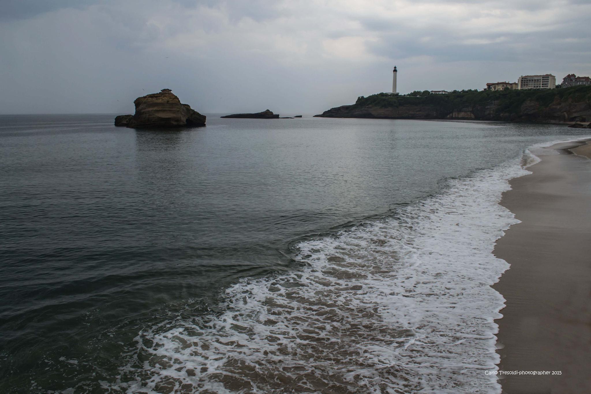Temporale a Biarritz by carlo tresoldi
