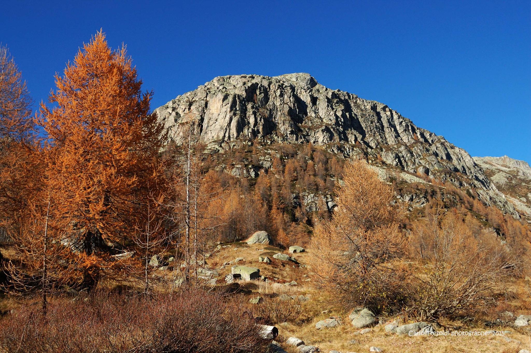 Il monte Figascian by carlo tresoldi
