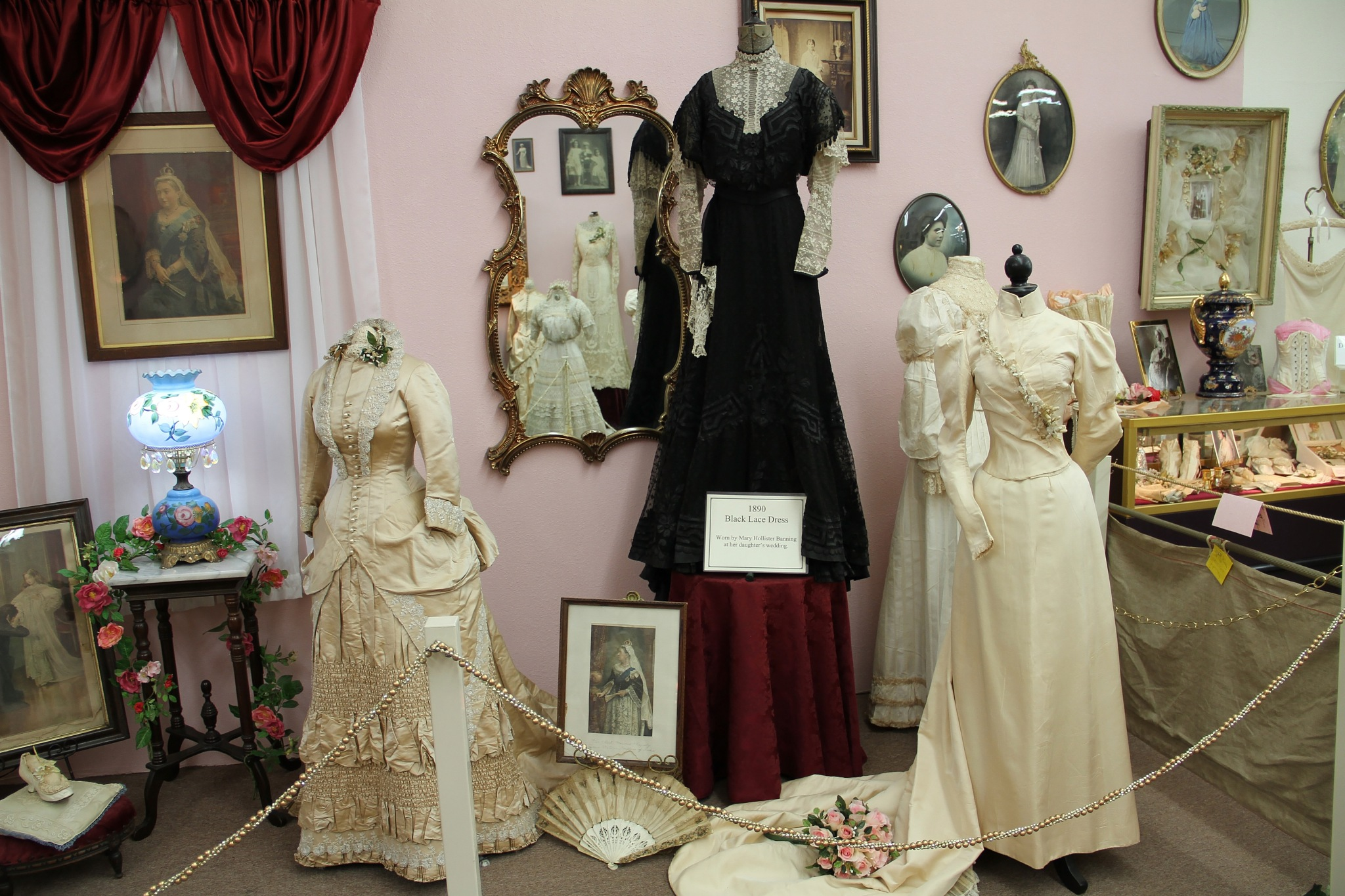Photo in Vintage #victorian #wedding dresses #vintage #museum #wedding gowns