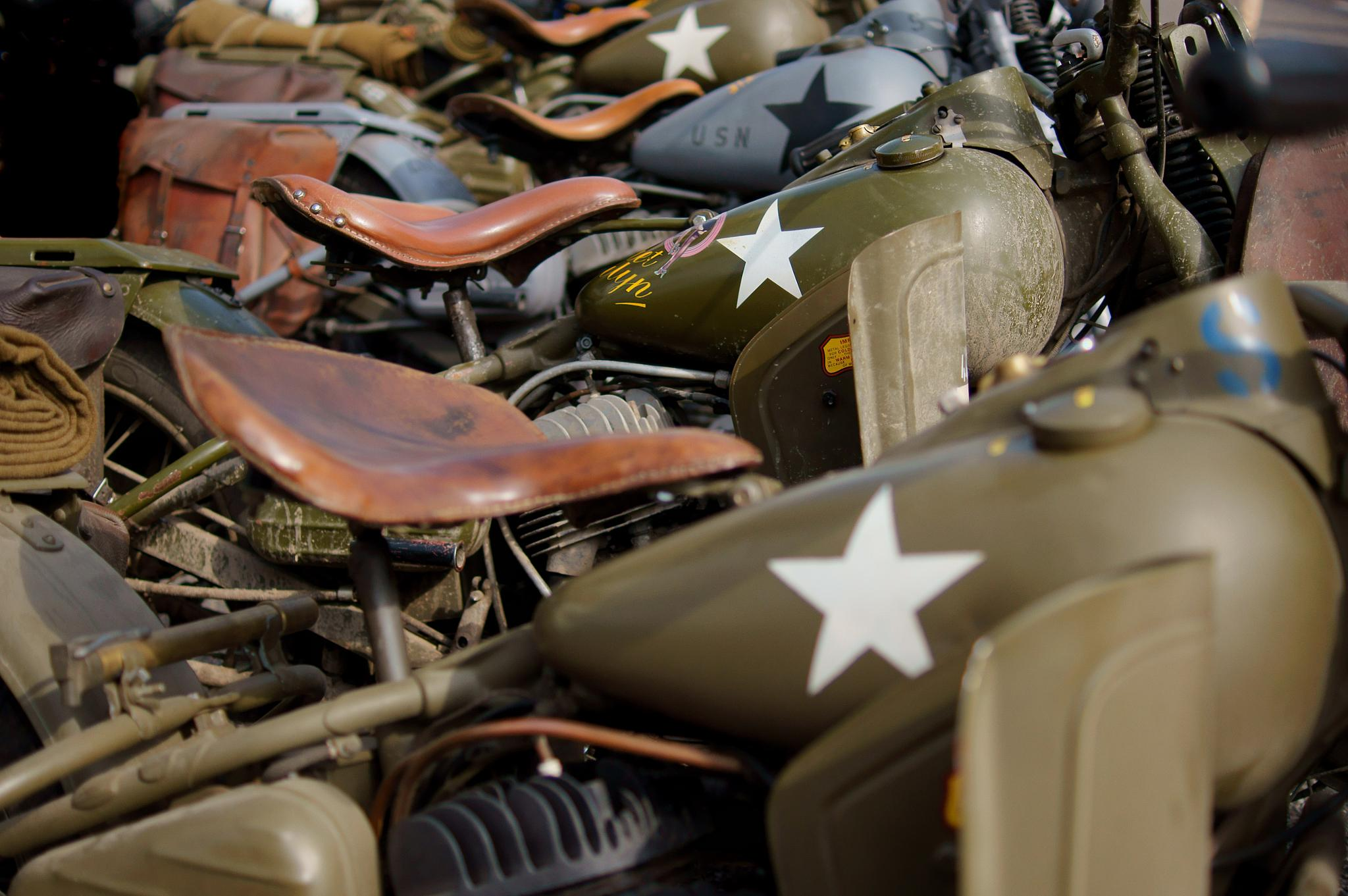 WWII bikes by Matt H. Imaging