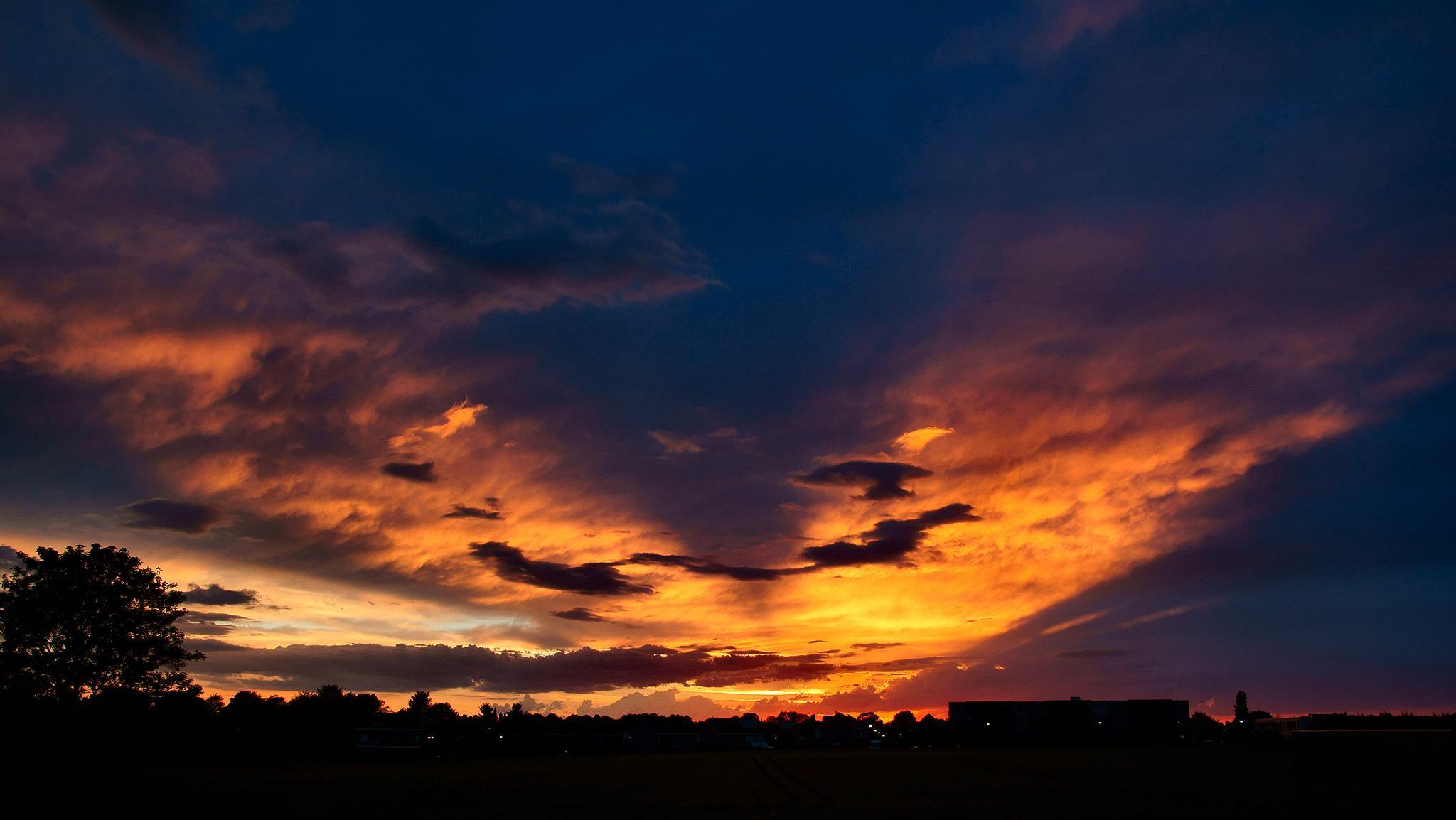 Sunset Sky by Matt H. Imaging
