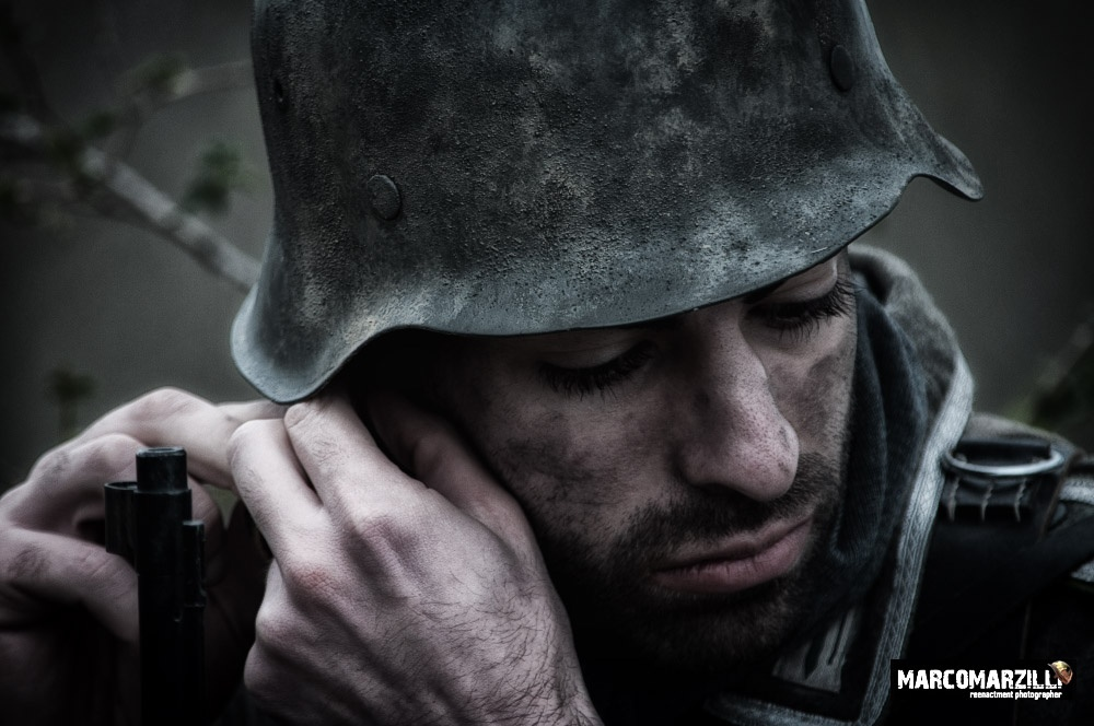 WW2 Reenactment Photography by Marco_Marzilli