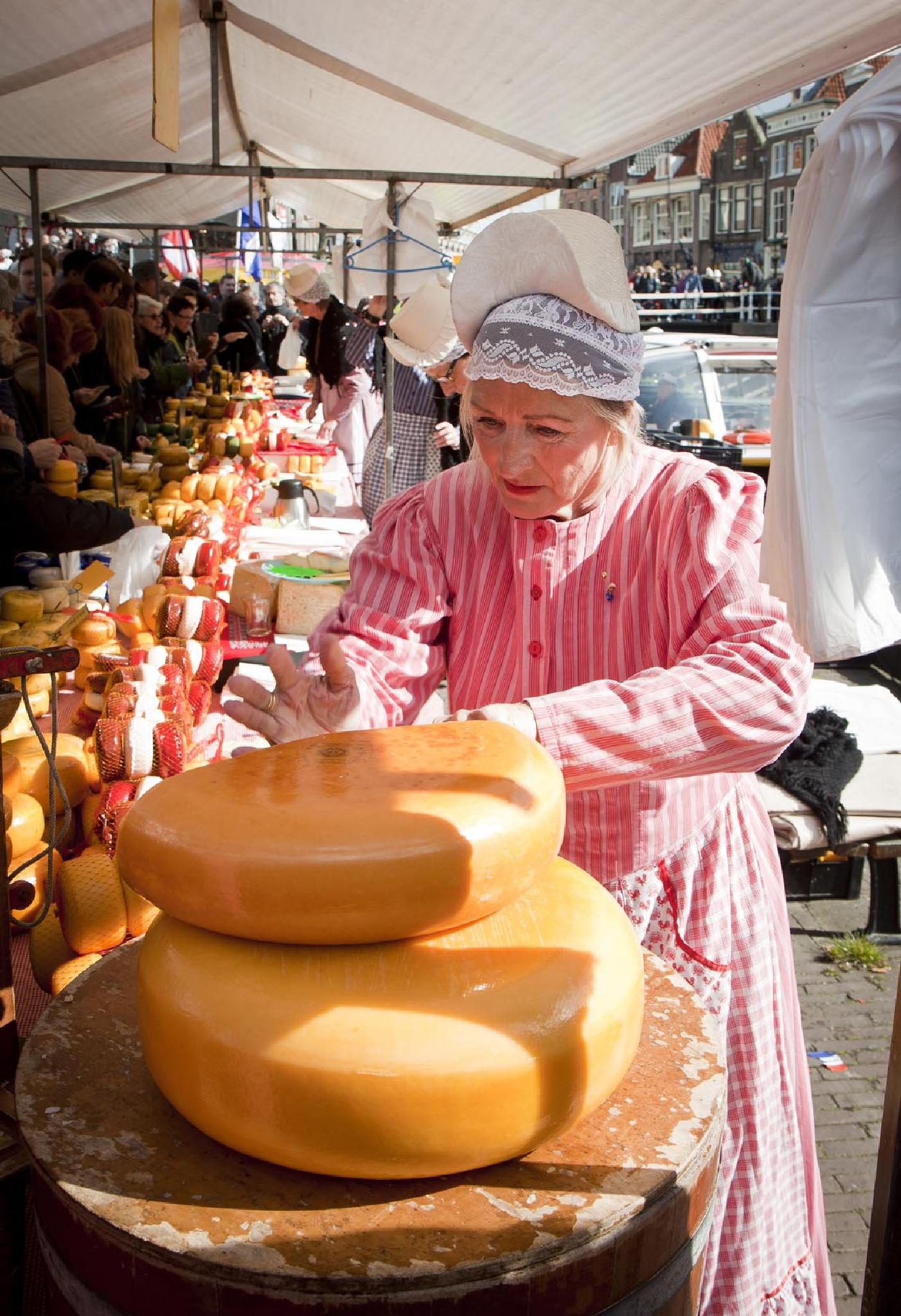 The cheese lady by Laura Calandt