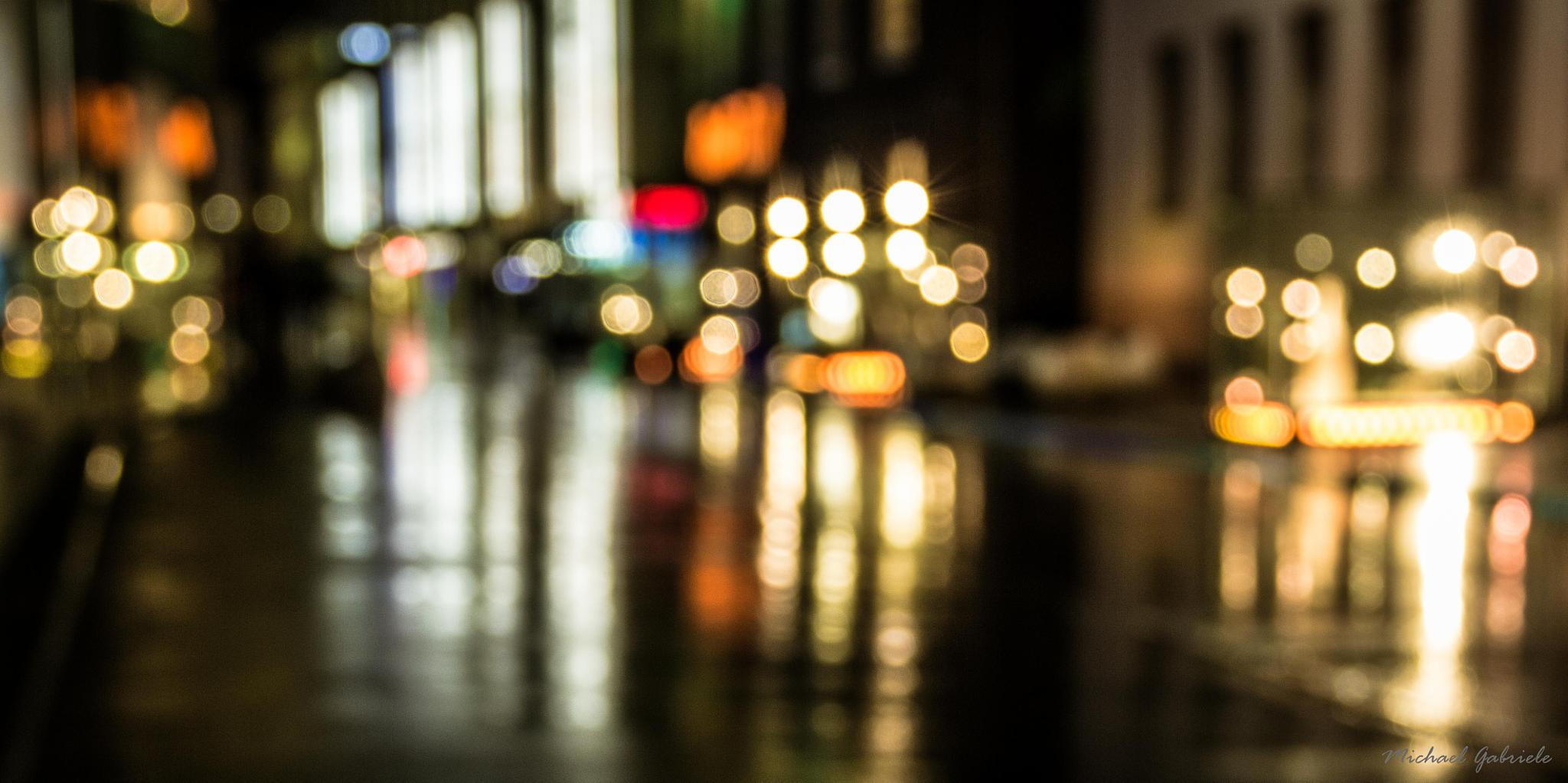 City Lights by Michael Gabriele