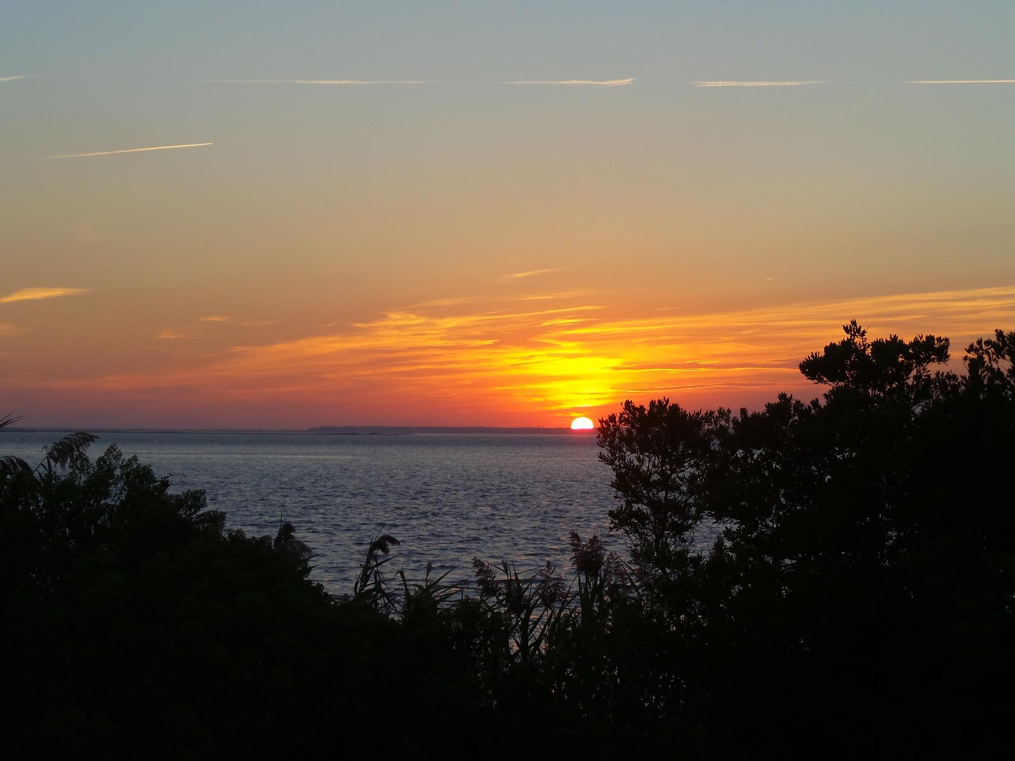 Sunset September by Laura J. Serpentelli