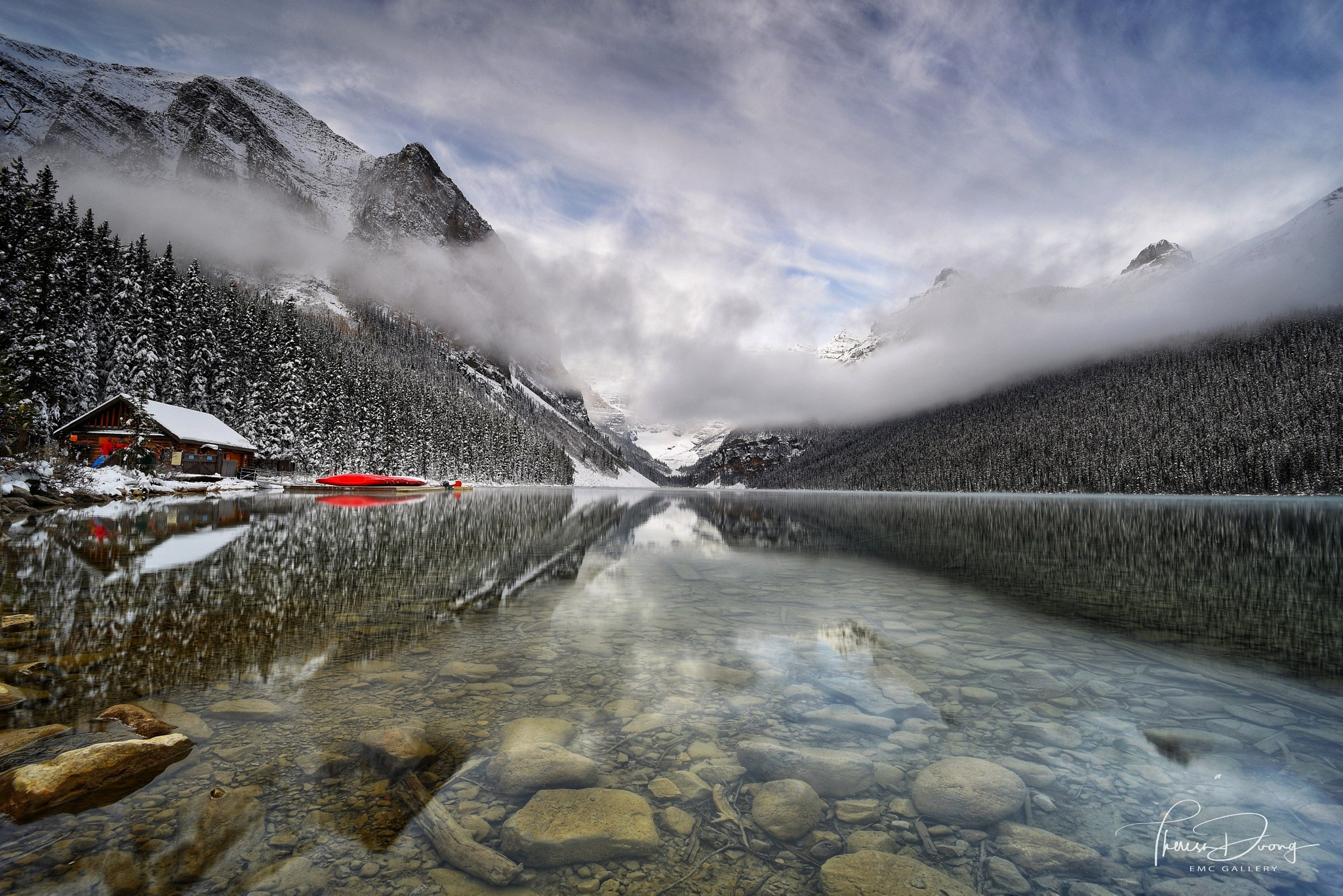 Lake Louise, Banff National Park by Theresa Duong