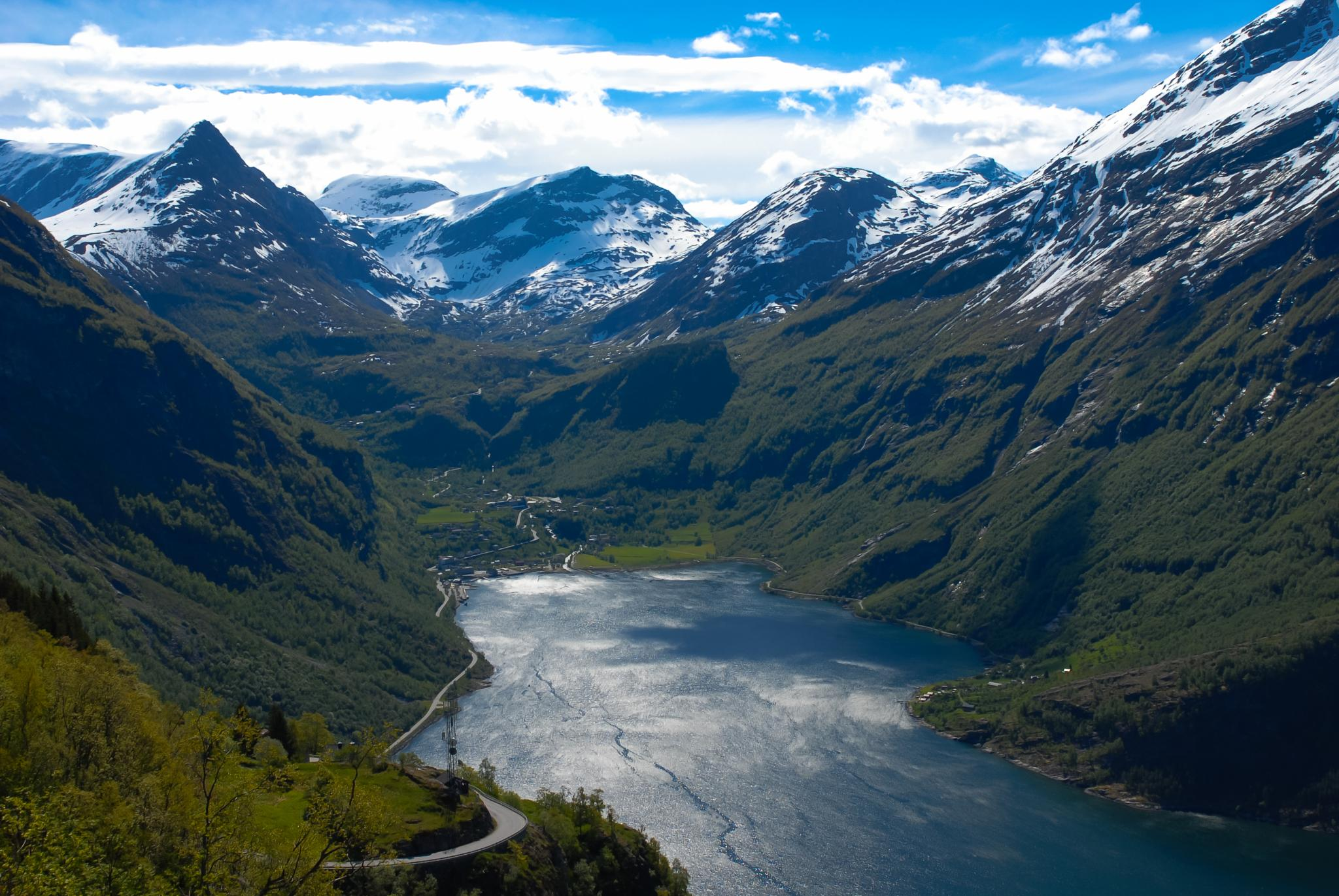 Geiranger Fjord by reuteler photography