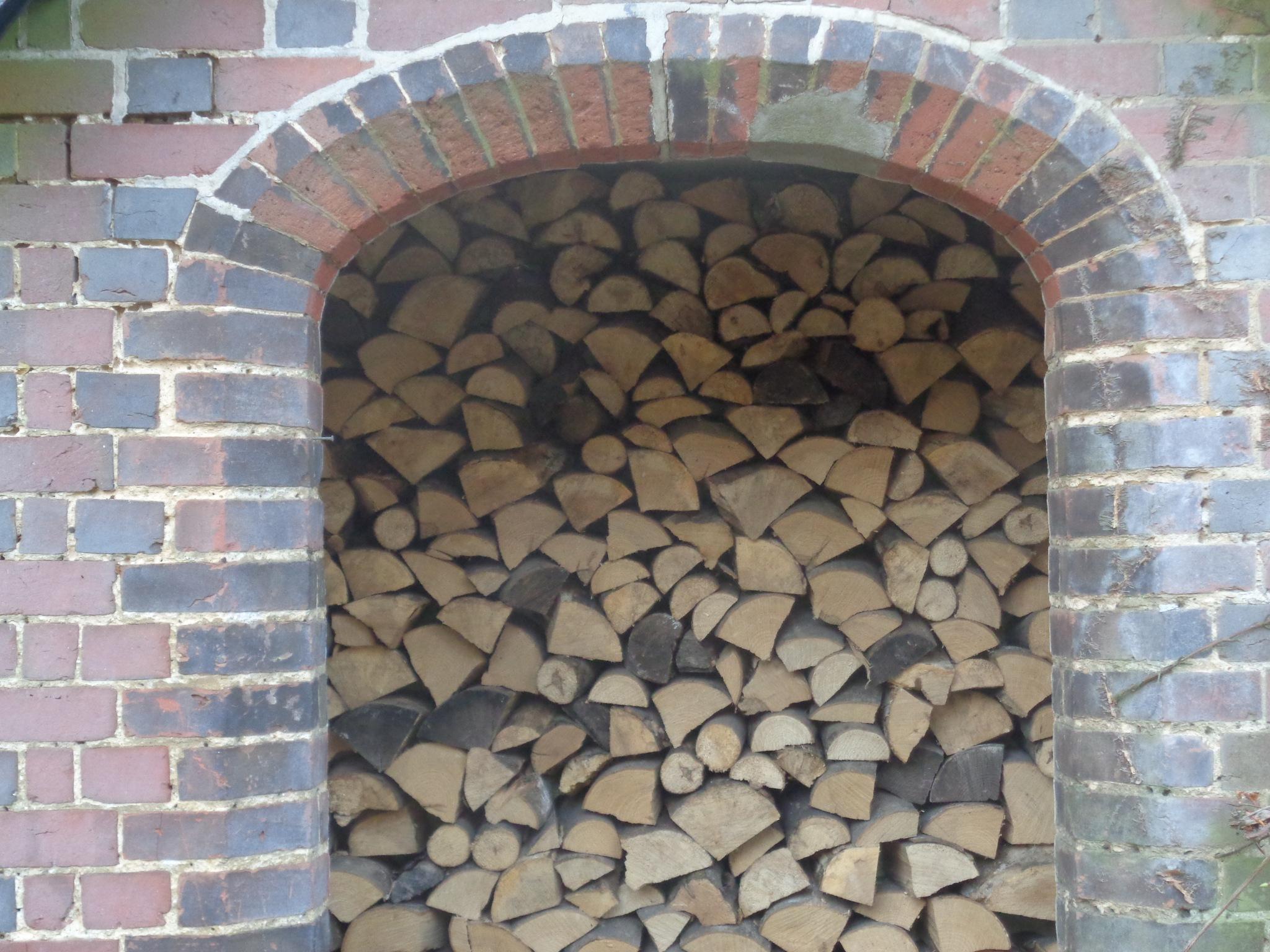 framed log by john patterson