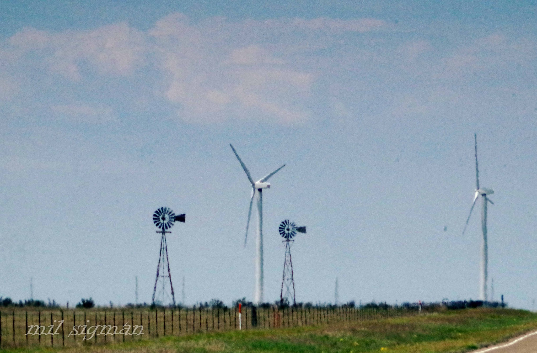 Windmills vs. Wind turbines for electrical power  by milled98