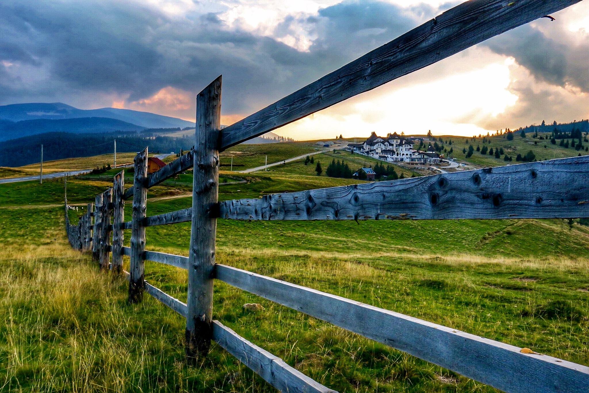 Fence....at 1400 m altitude! by Adi Gli