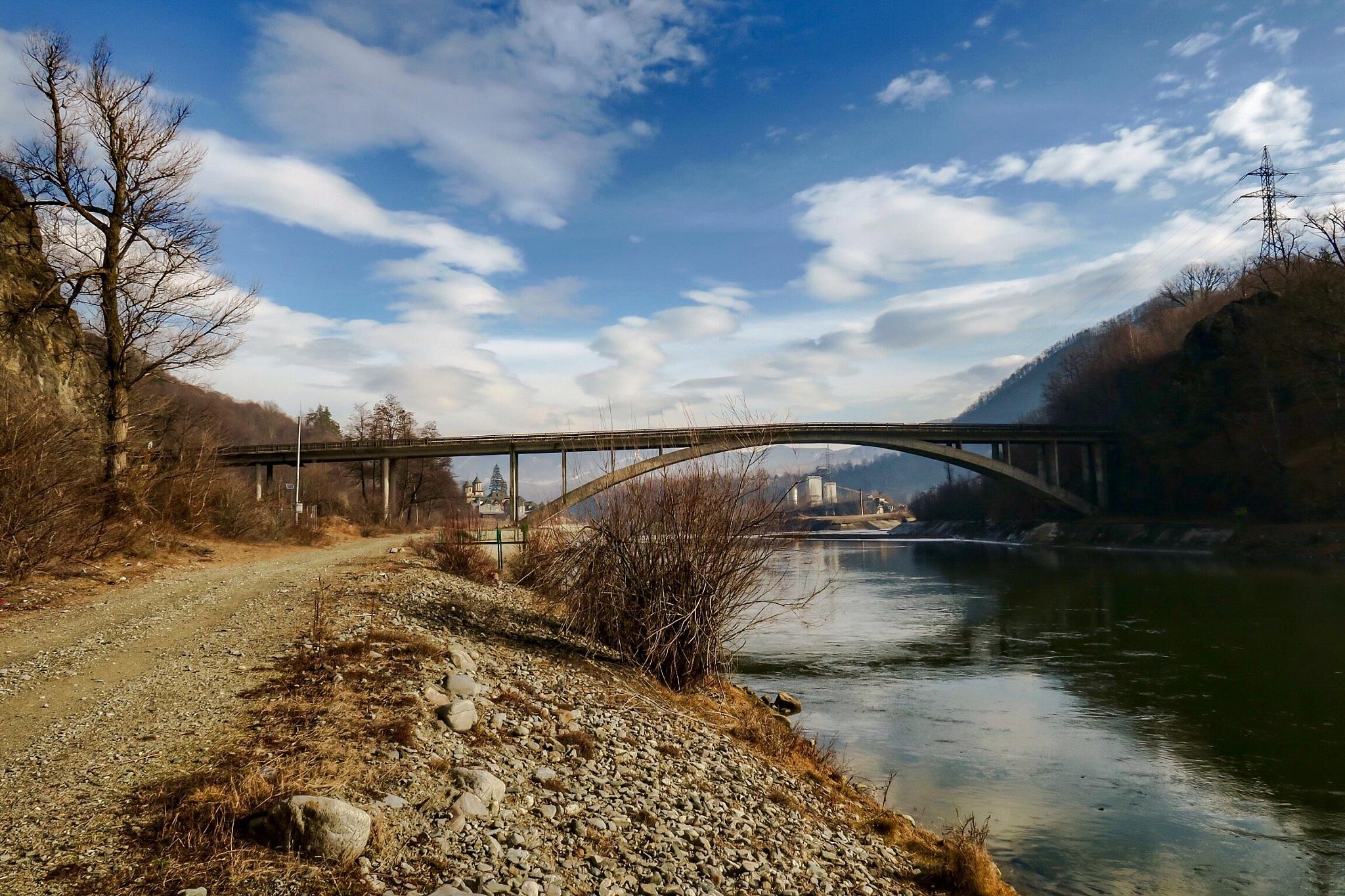 Bridge over Olt River 2 by Adi Gli
