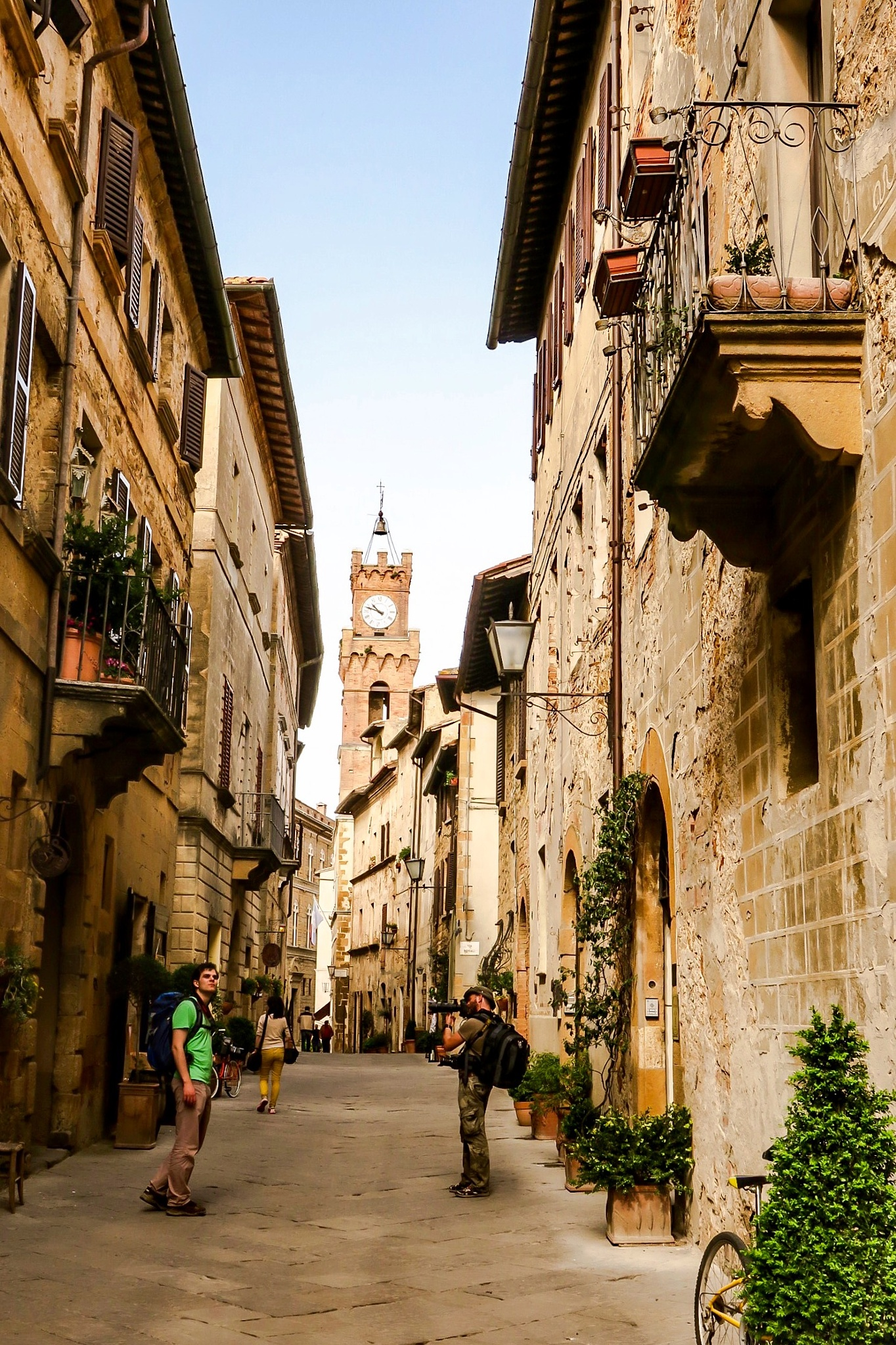 Just two of as......in Pienza! by Adi Gli