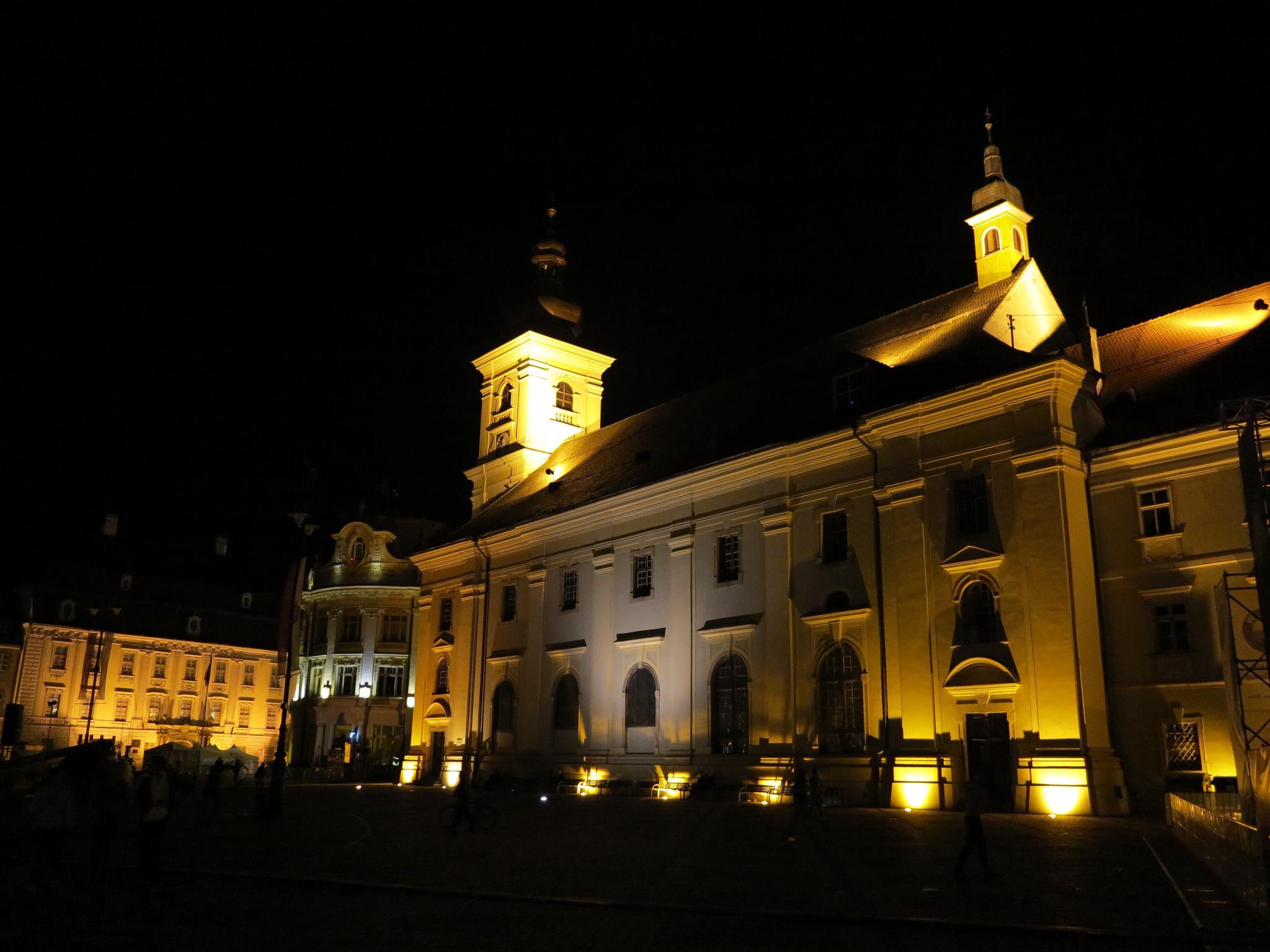 Sibiu by Night  by Adi Gli